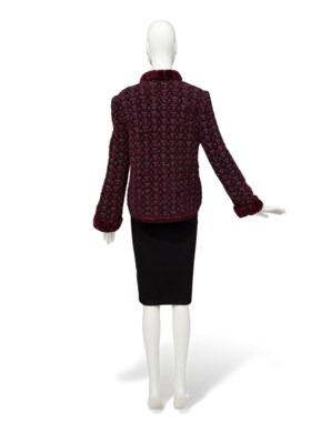A KNITTED JACKET