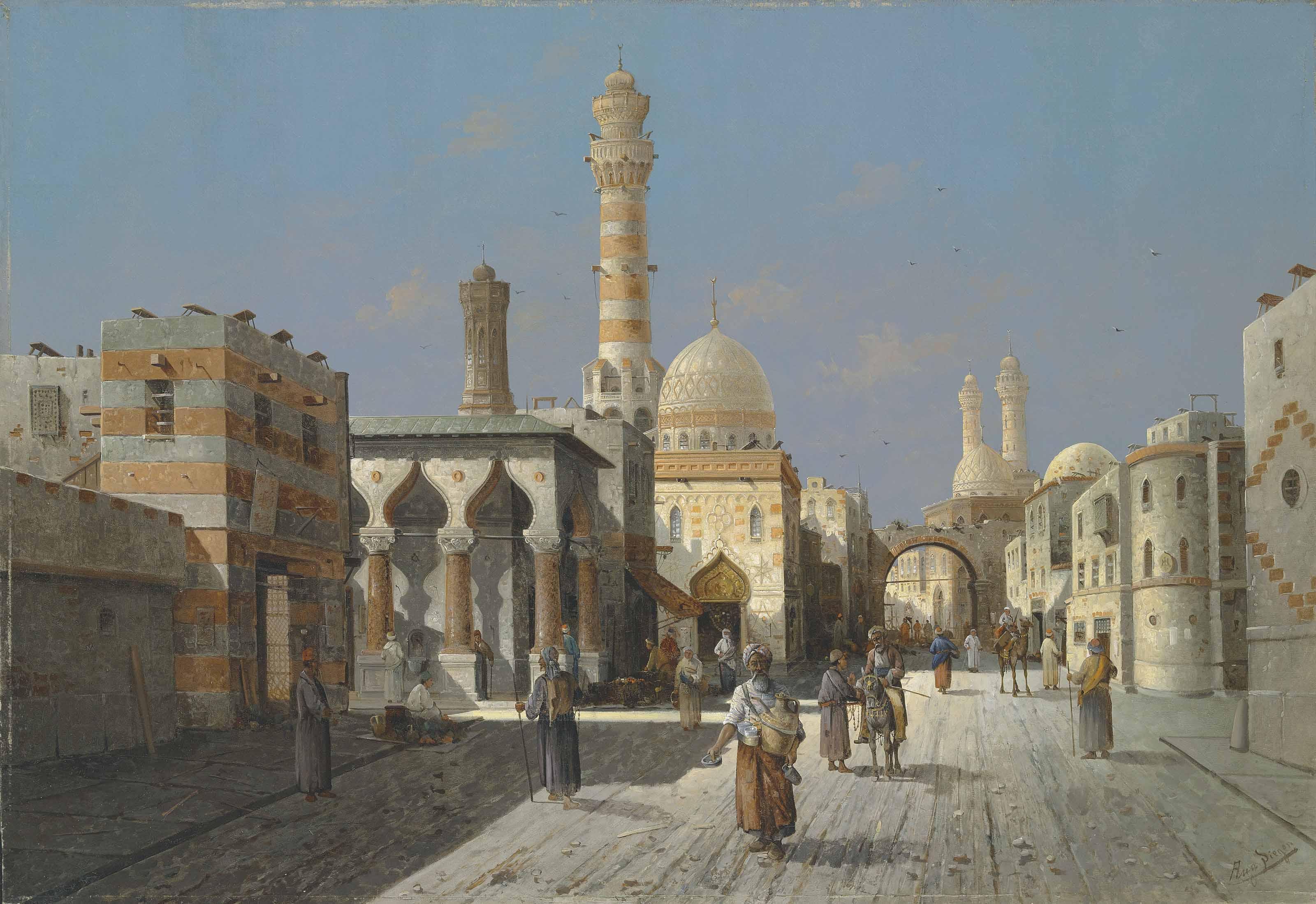 A capriccio of Cairo