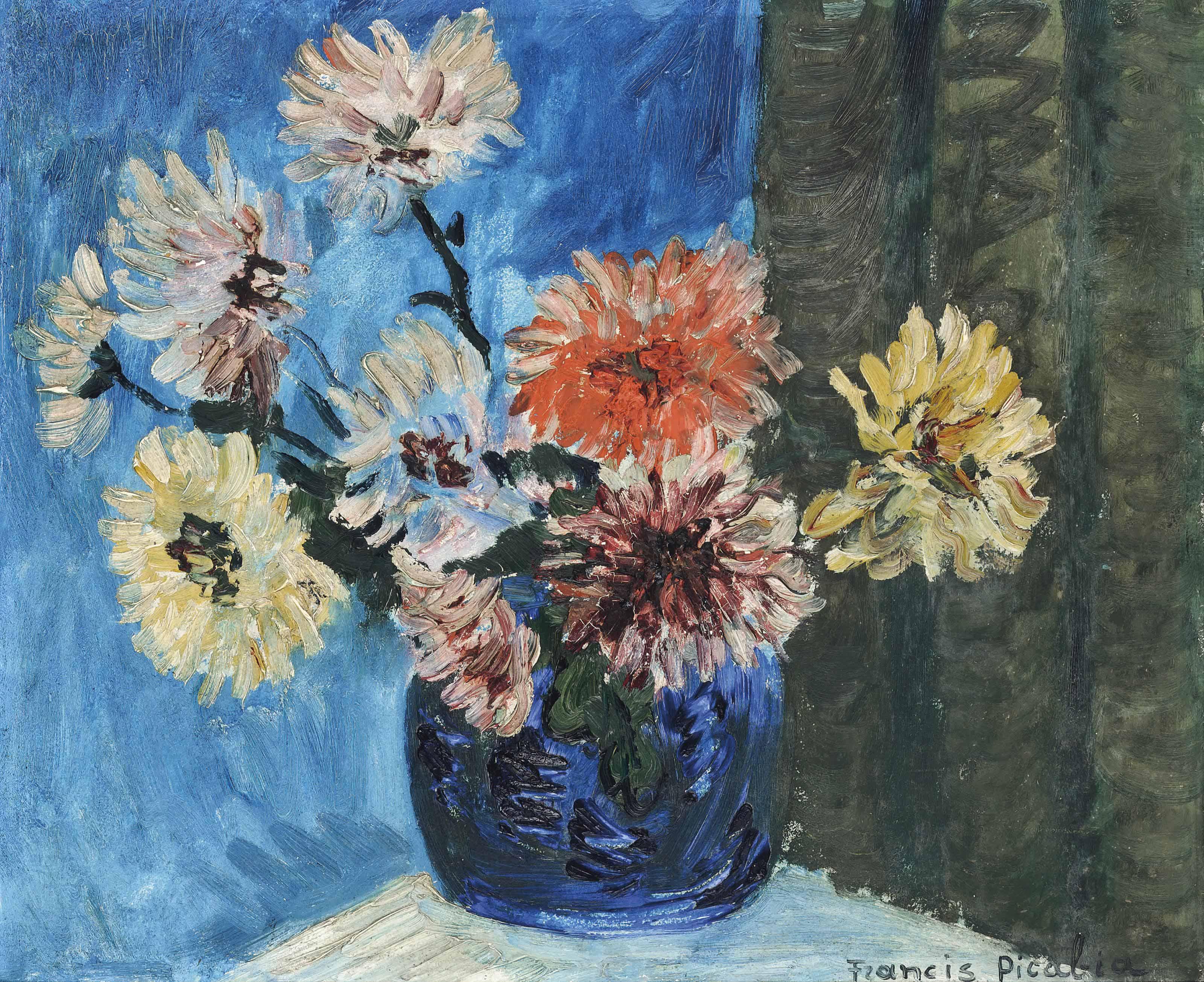 Francis picabia 1879 1953 bouquet de fleurs christie 39 s for Bouquet de fleurs 2017