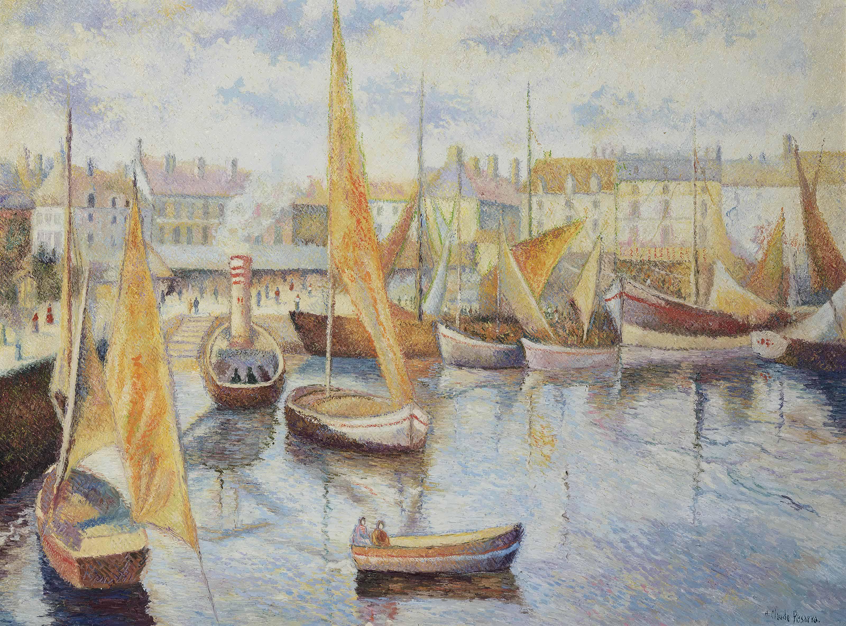 Le port de Saint-Martin