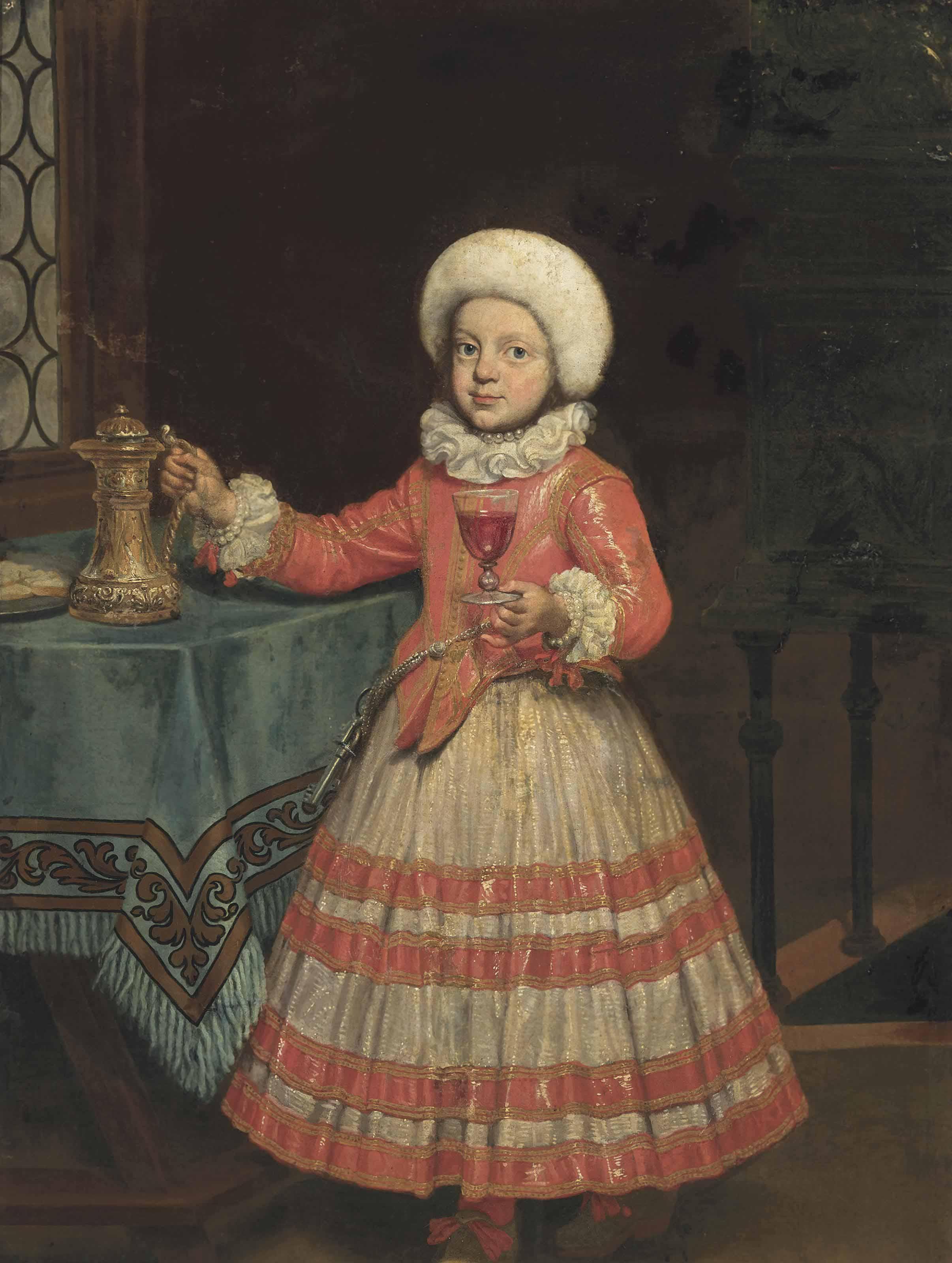 Pierre Ronche (active Rome, 17th century) | Portrait of