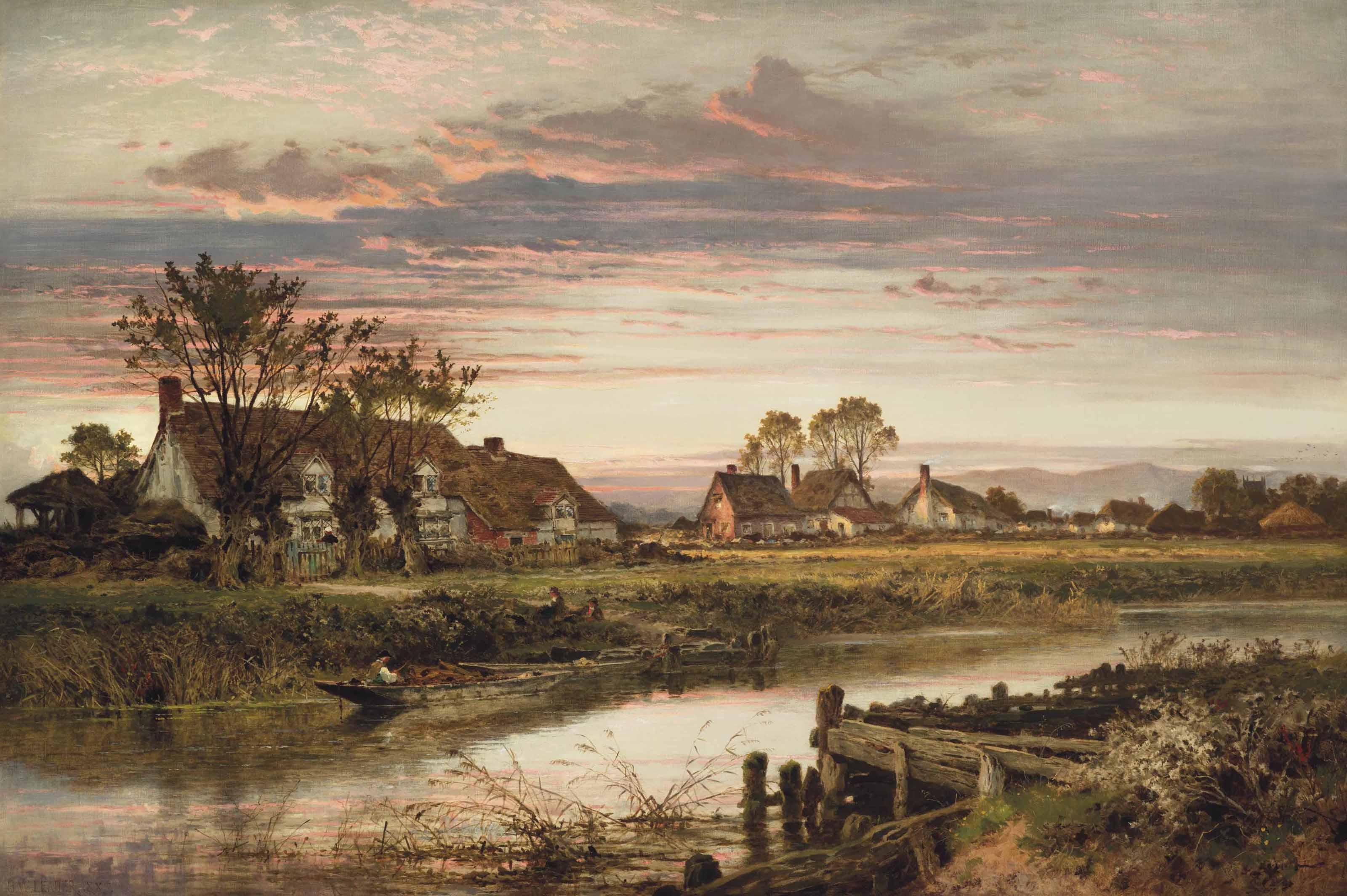 A Worcestershire riverside hamlet