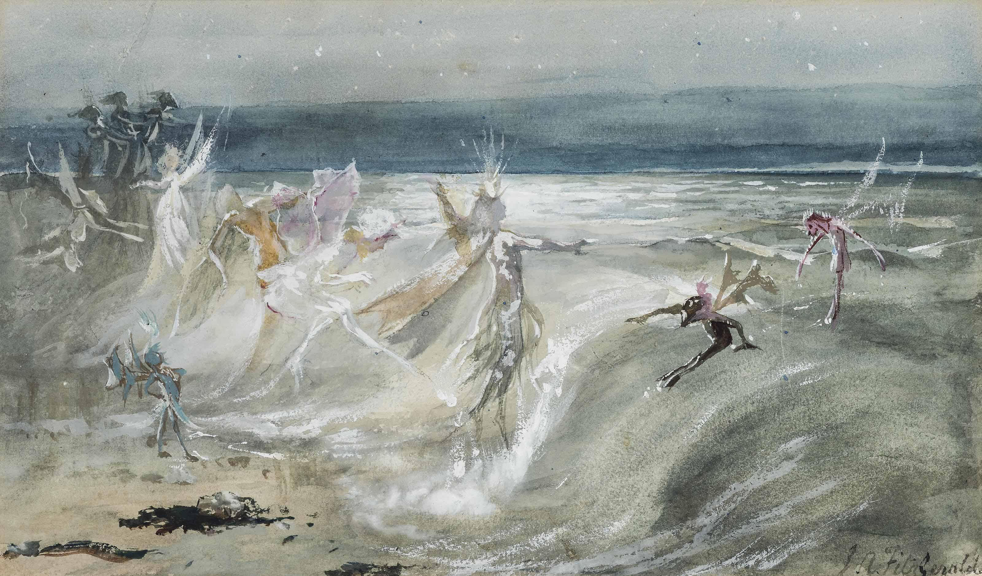 Sea sprites