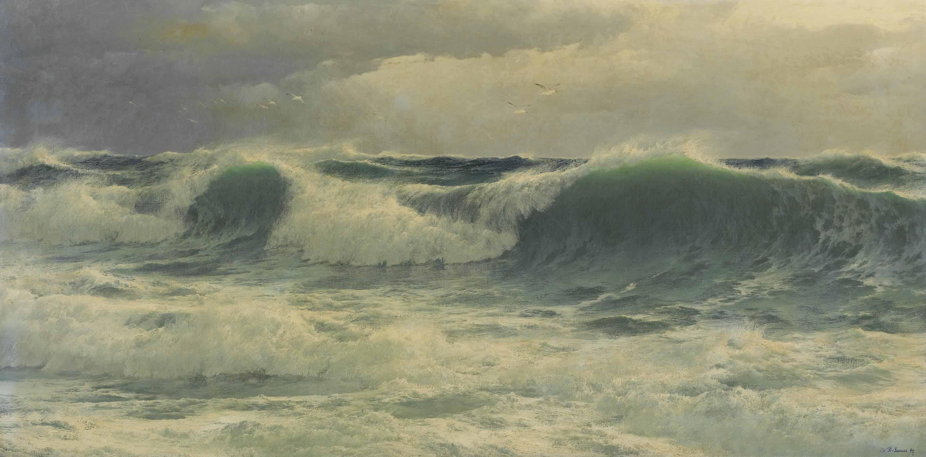 A ground sea