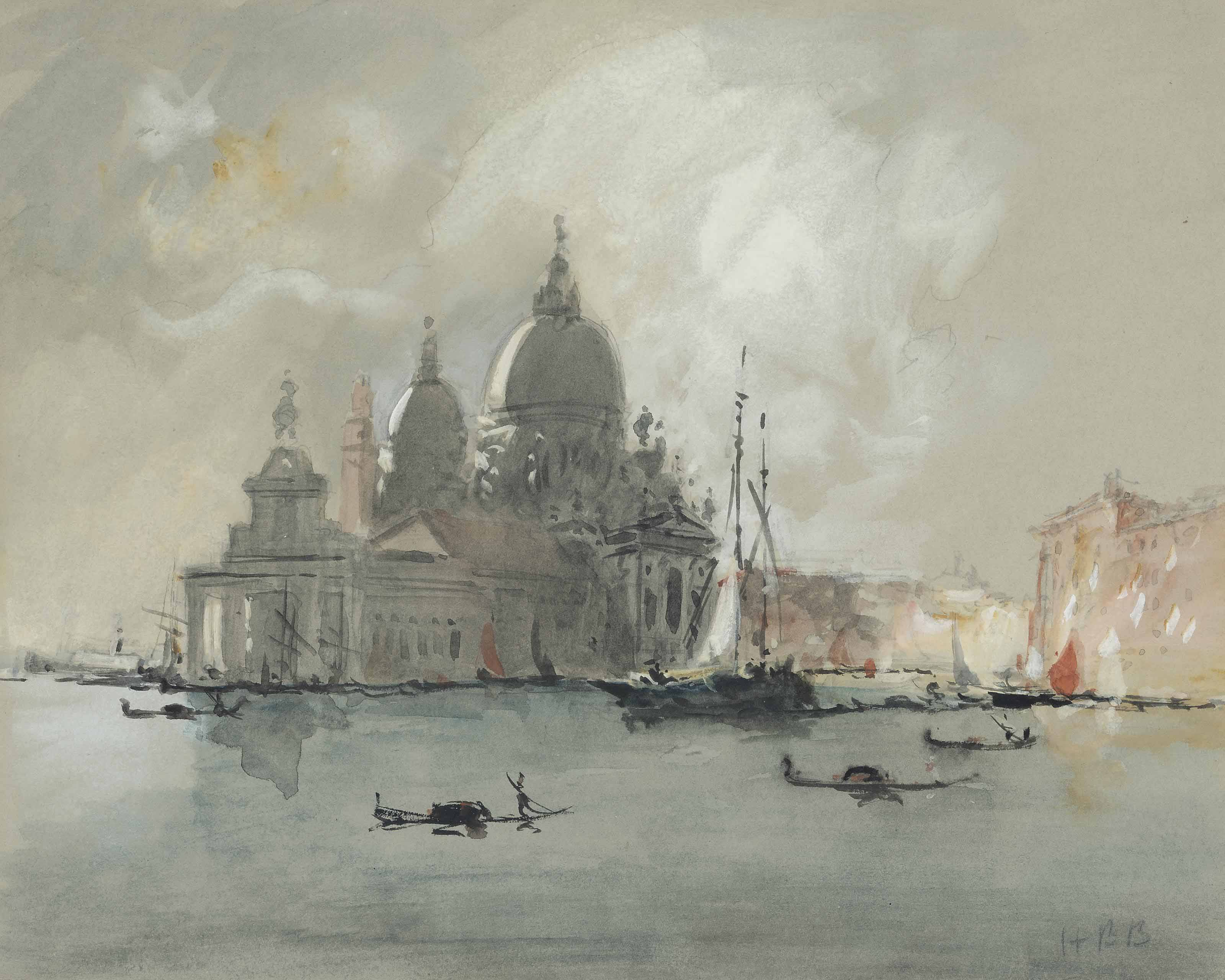 View of the Salute, Venice