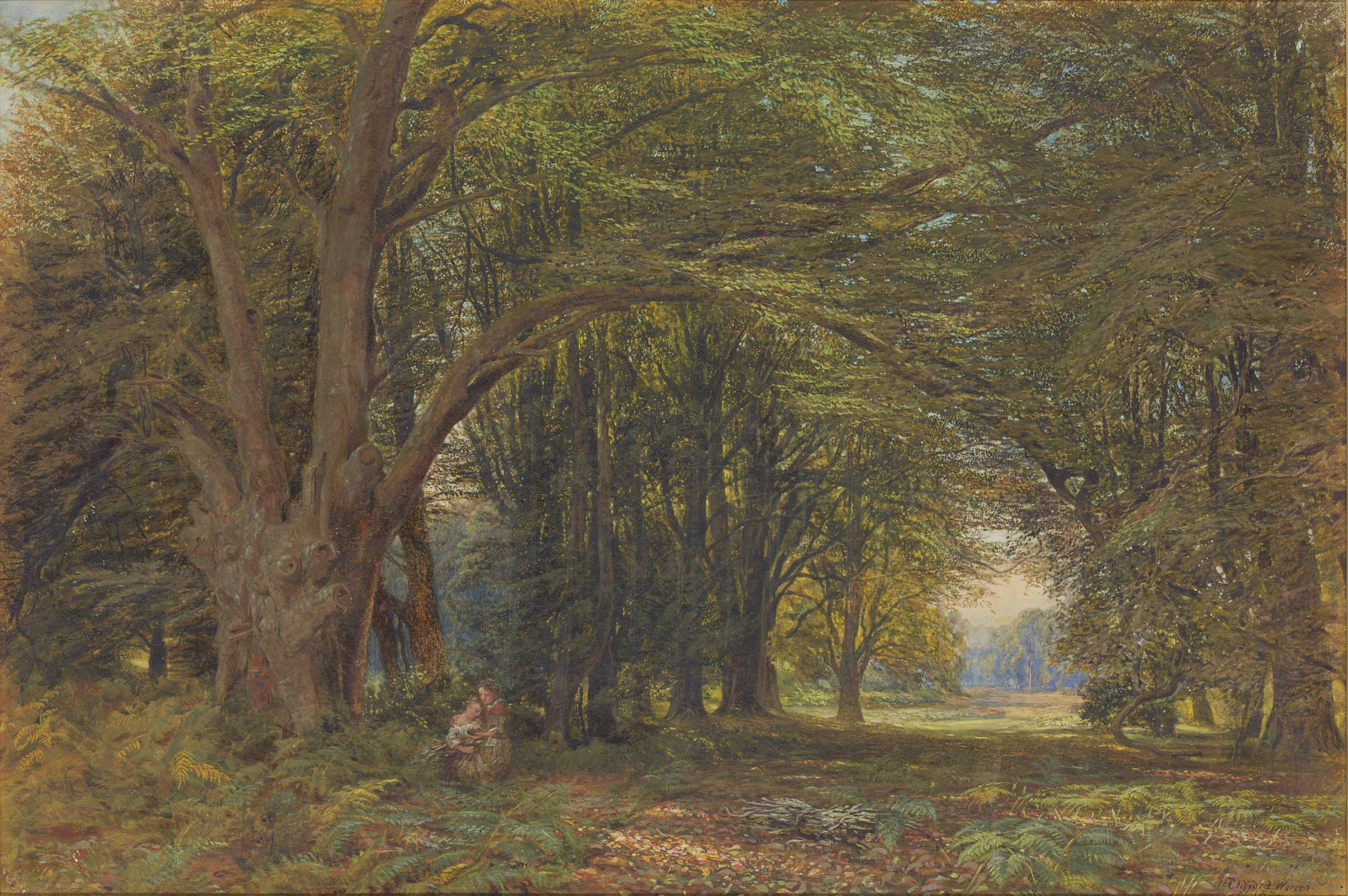 A Forest Glade, Hampshire