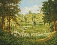 A woodland lake