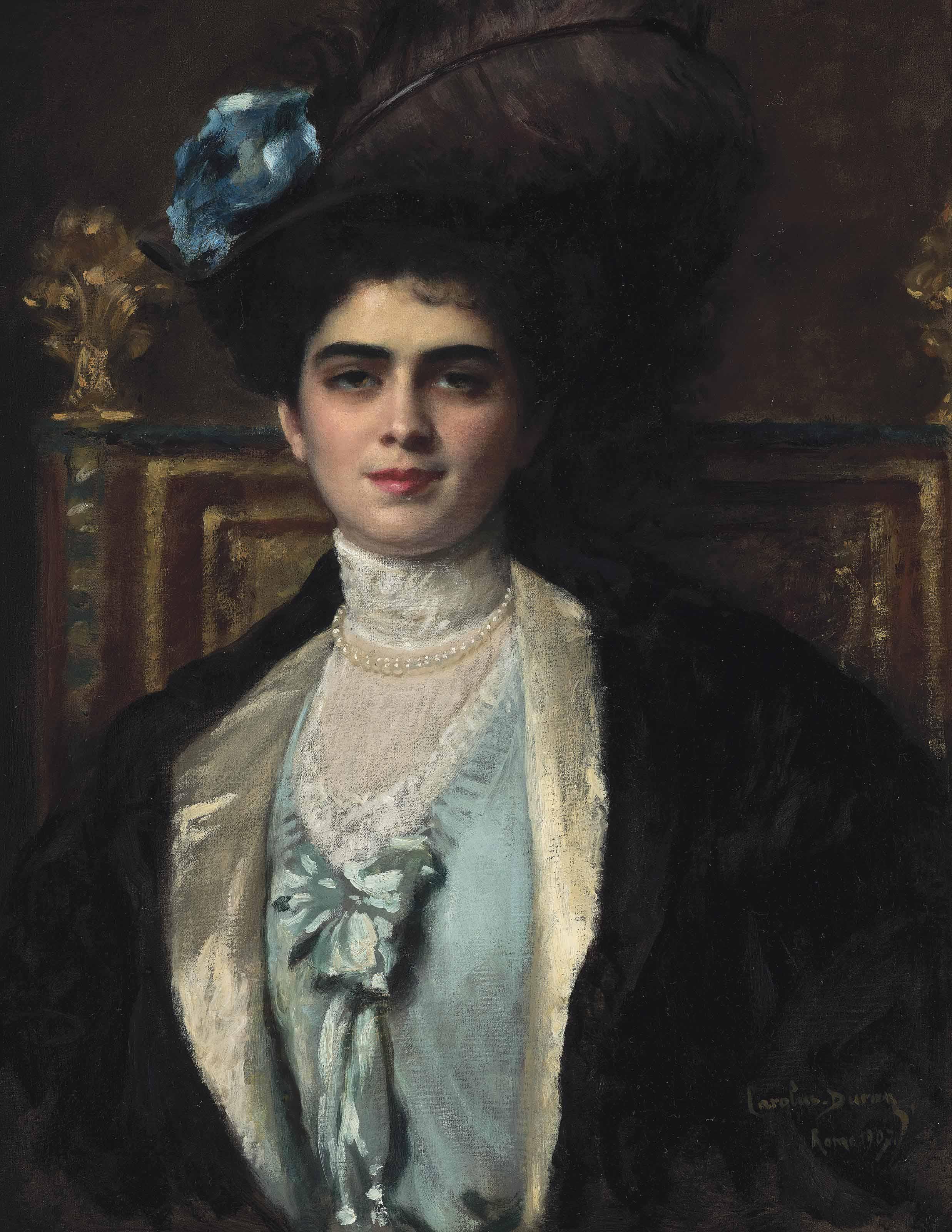 Charles-Emile-Auguste Carolus-Duran (French, 1838-1917)