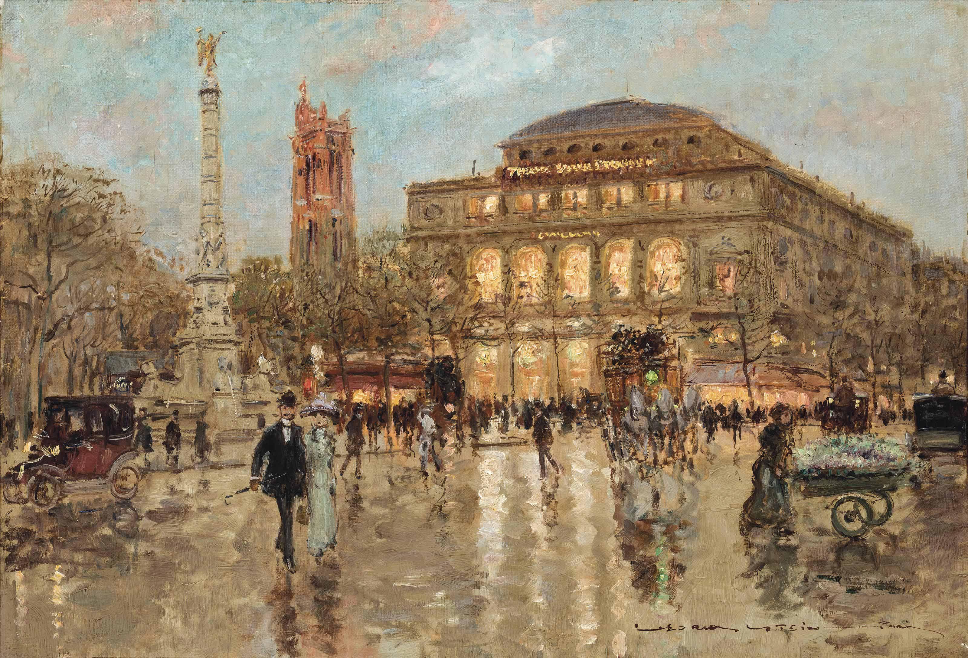 Theatré du Châtelet, Paris