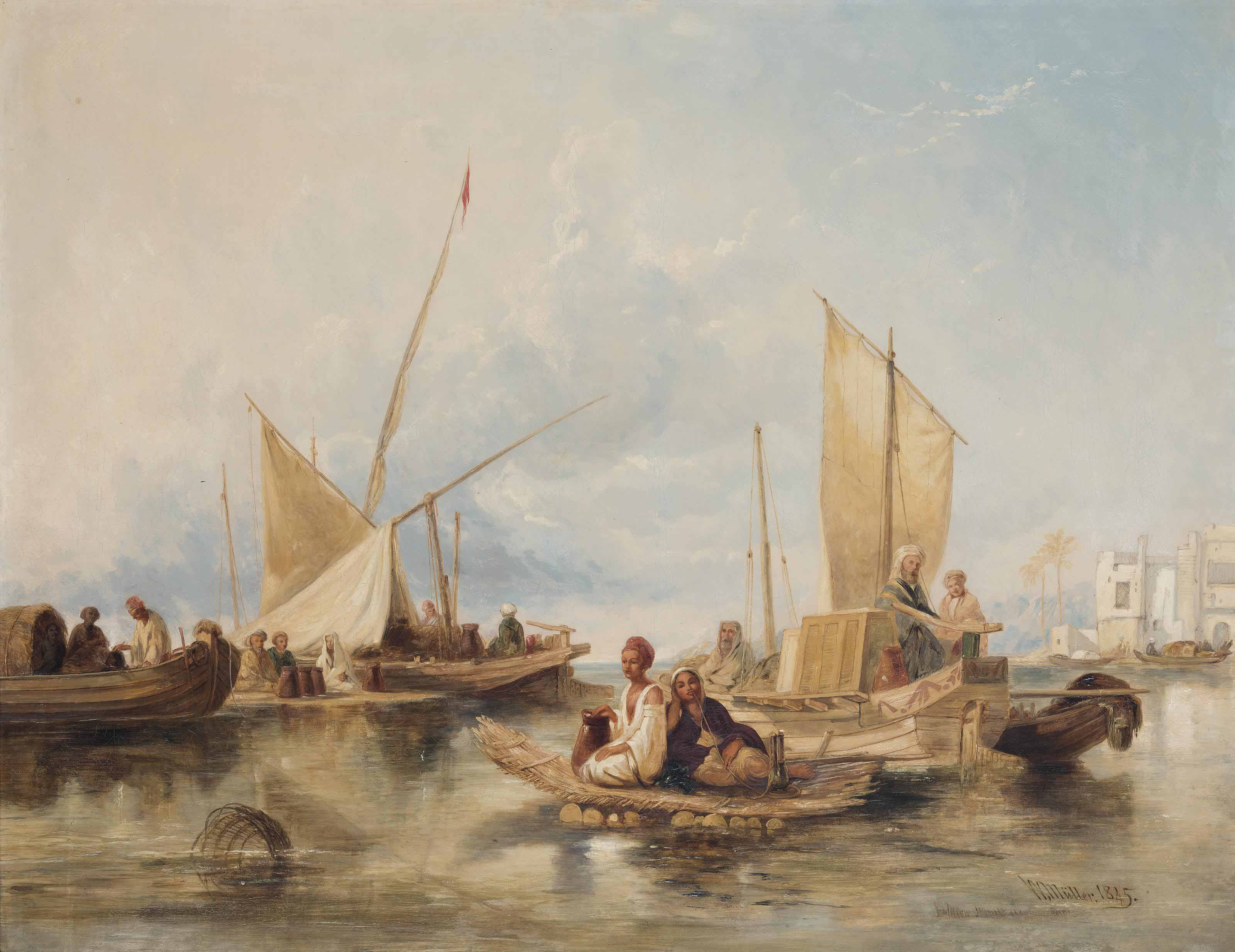 Figures on the Nile
