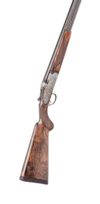 A COTTALI ENGRAVED 12-BORE 'S3 EELL' SINGLE-TRIGGER OVER-AND-UNDER SIDELOCK EJECTOR