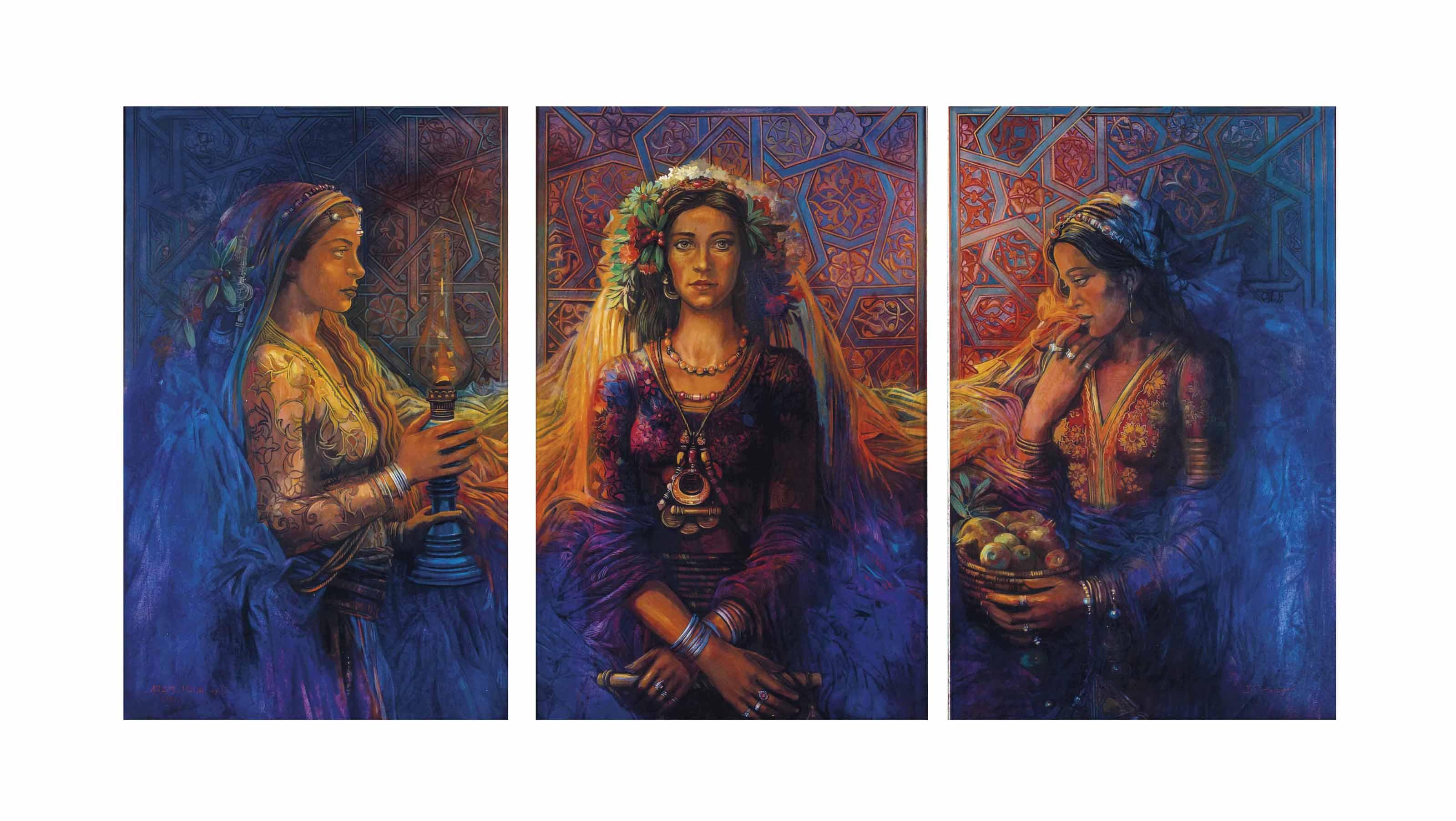 Untitled (Three Ladies)