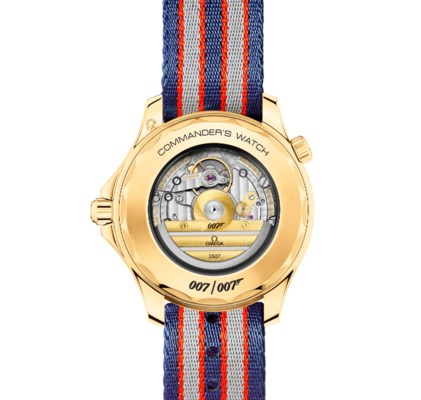 OMEGA, 18K GOLD SEAMASTER COMMANDERS WATCH WITH UNIFORM
