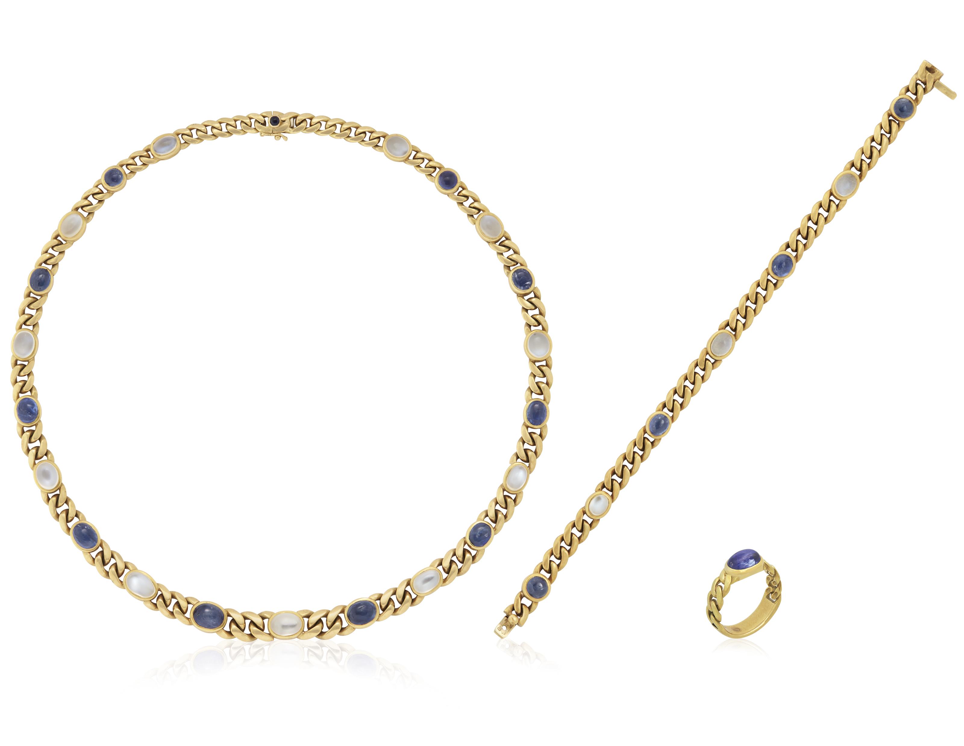 moonstone jewelry gold - photo #33