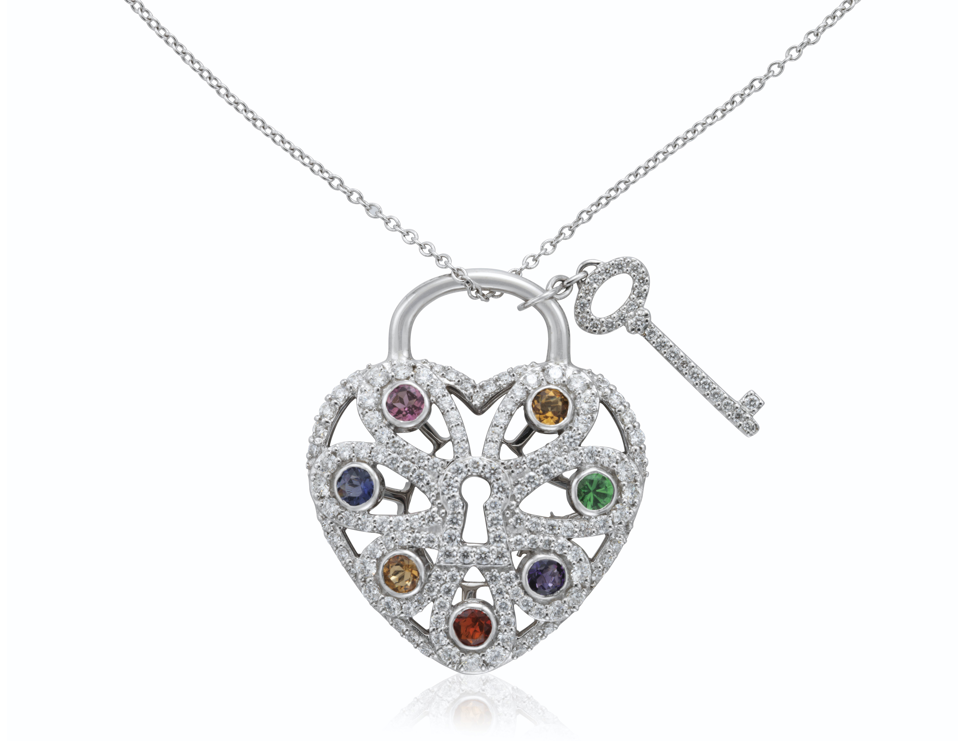 necklace jewelry gemstone home products the italian silver sterling multi milor
