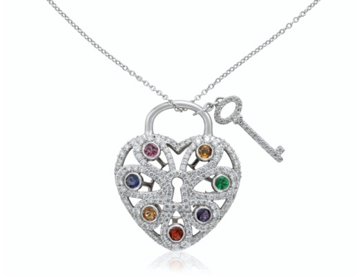 08c3bd4cc TIFFANY & CO. DIAMOND AND MULTI-GEM PENDANT NECKLACE, | Christie's