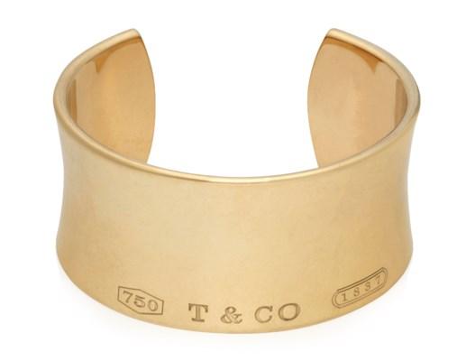 Tiffany Co 1837 Cuff Bracelet