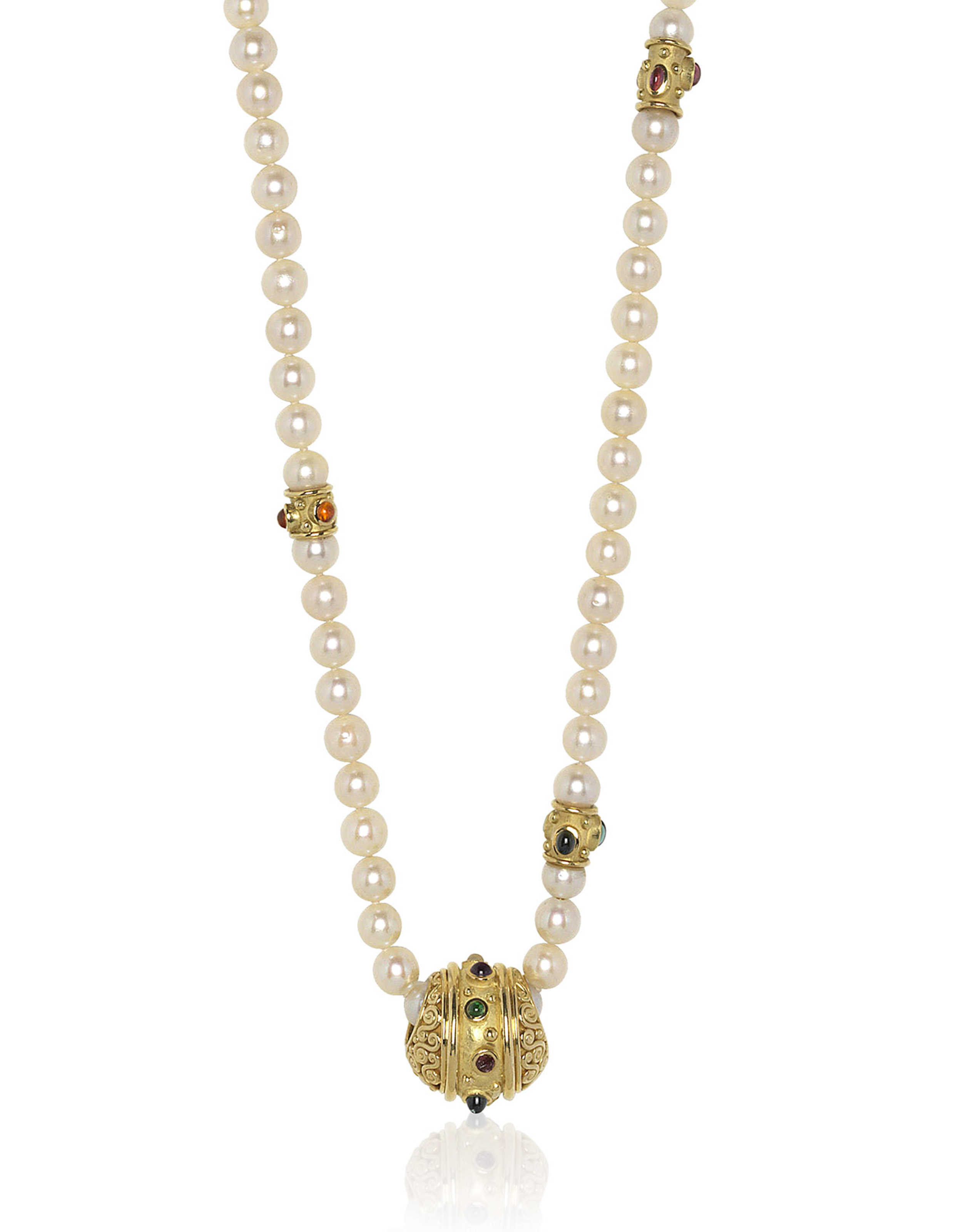 pacific fp w diamond gold cultured products south pendant white pearl