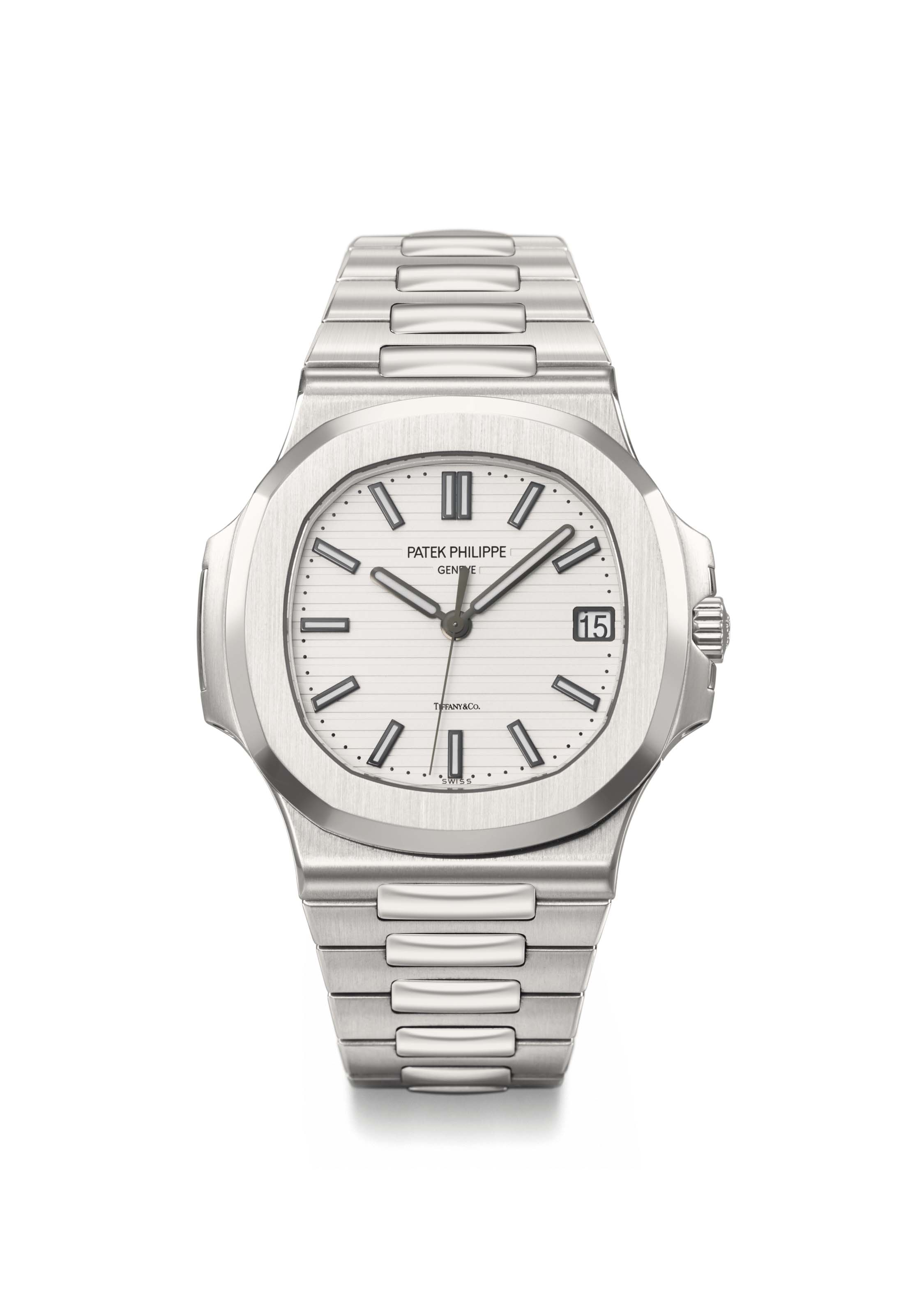 Patek Philippe A Fine And Very Rare Stainless Steel Automatic