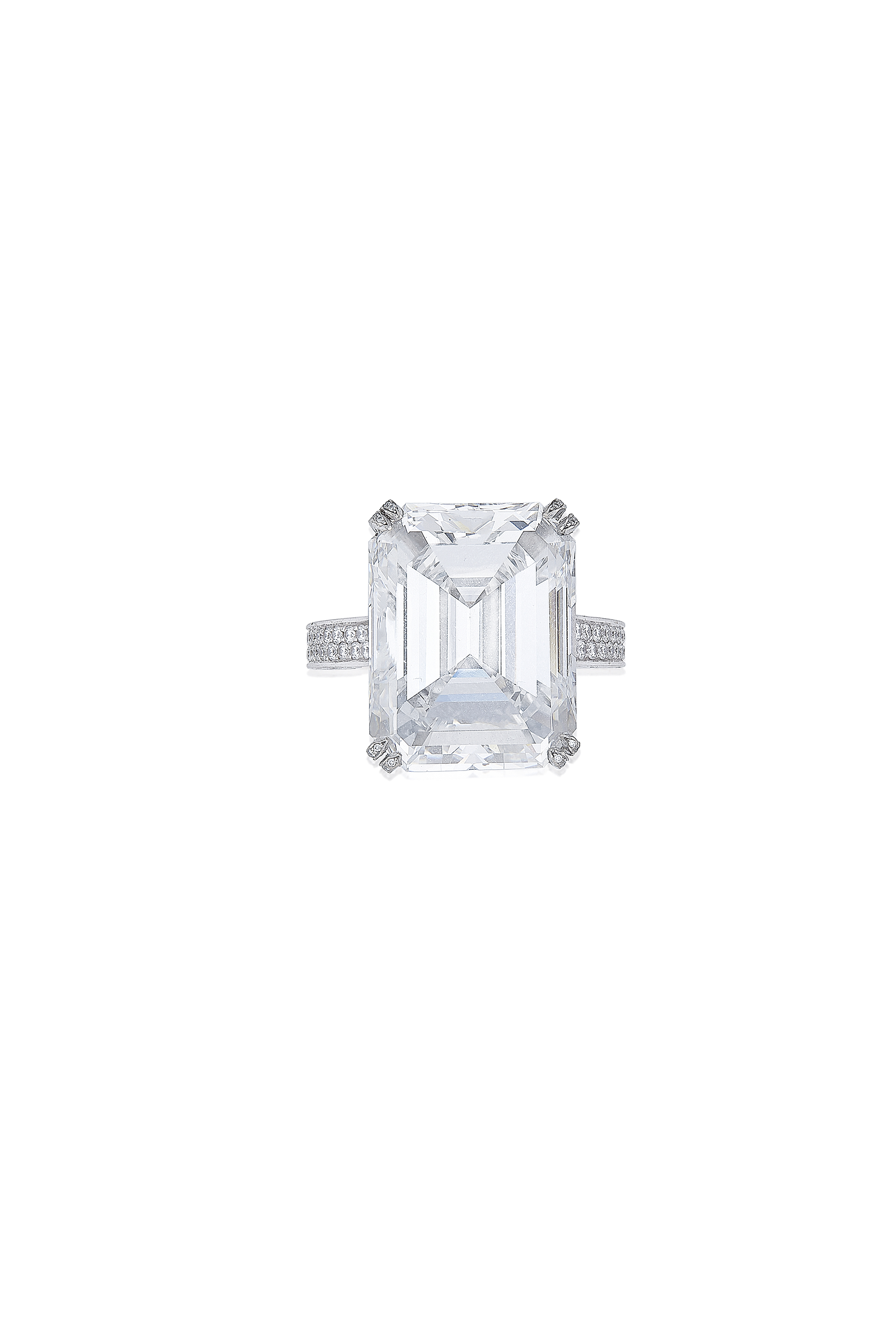 A DIAMOND RING, BY CHOPARD