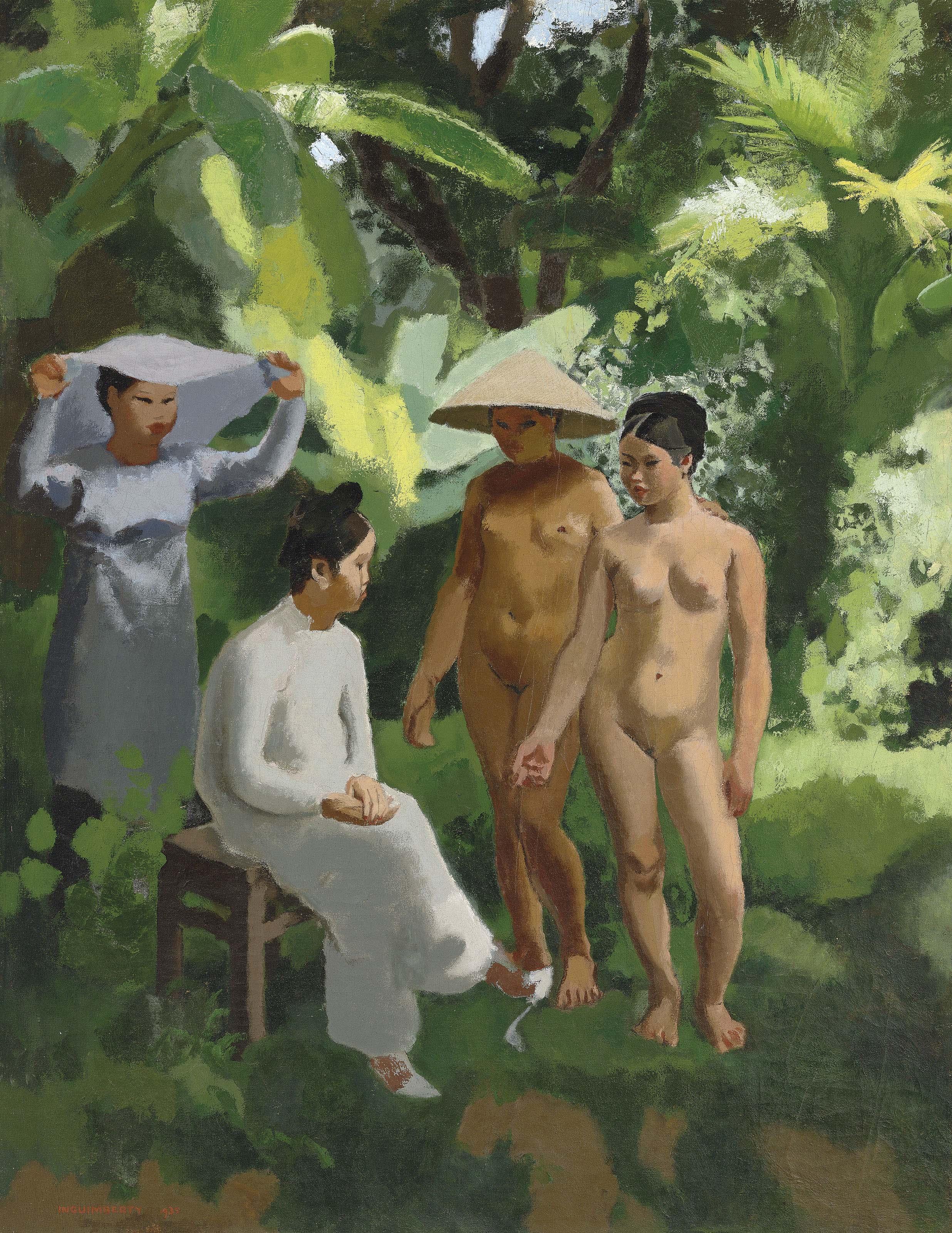 Femmes Vietnamiennes (Vietnamese women)