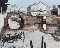 SCENERY OF ZHOUZHUANG DOUBLE BRIDGE