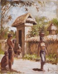 A Balinese Village