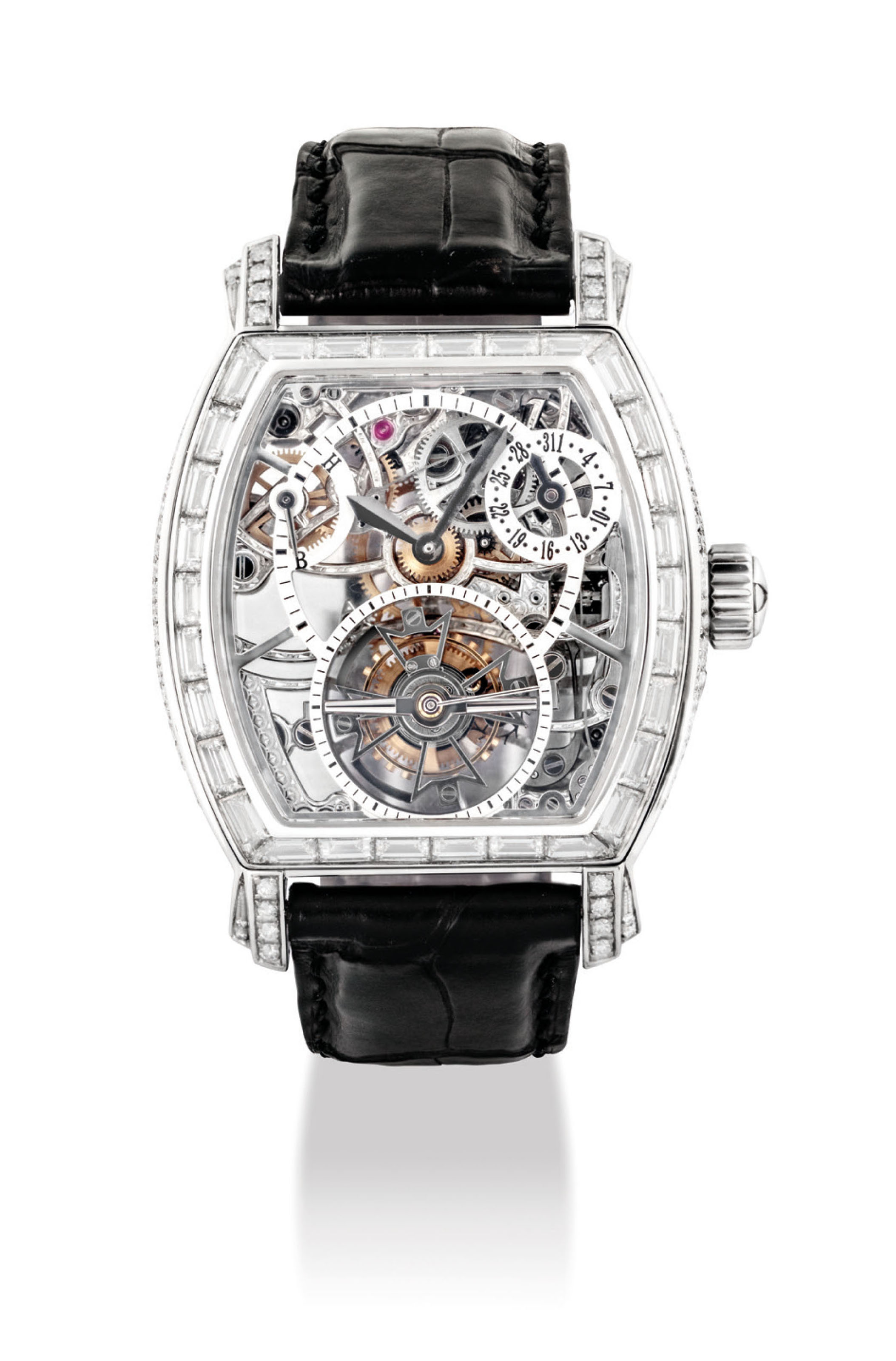 VACHERON CONSTANTIN AN IMPORTANT AND VERY FINE PLATINUM AND ...