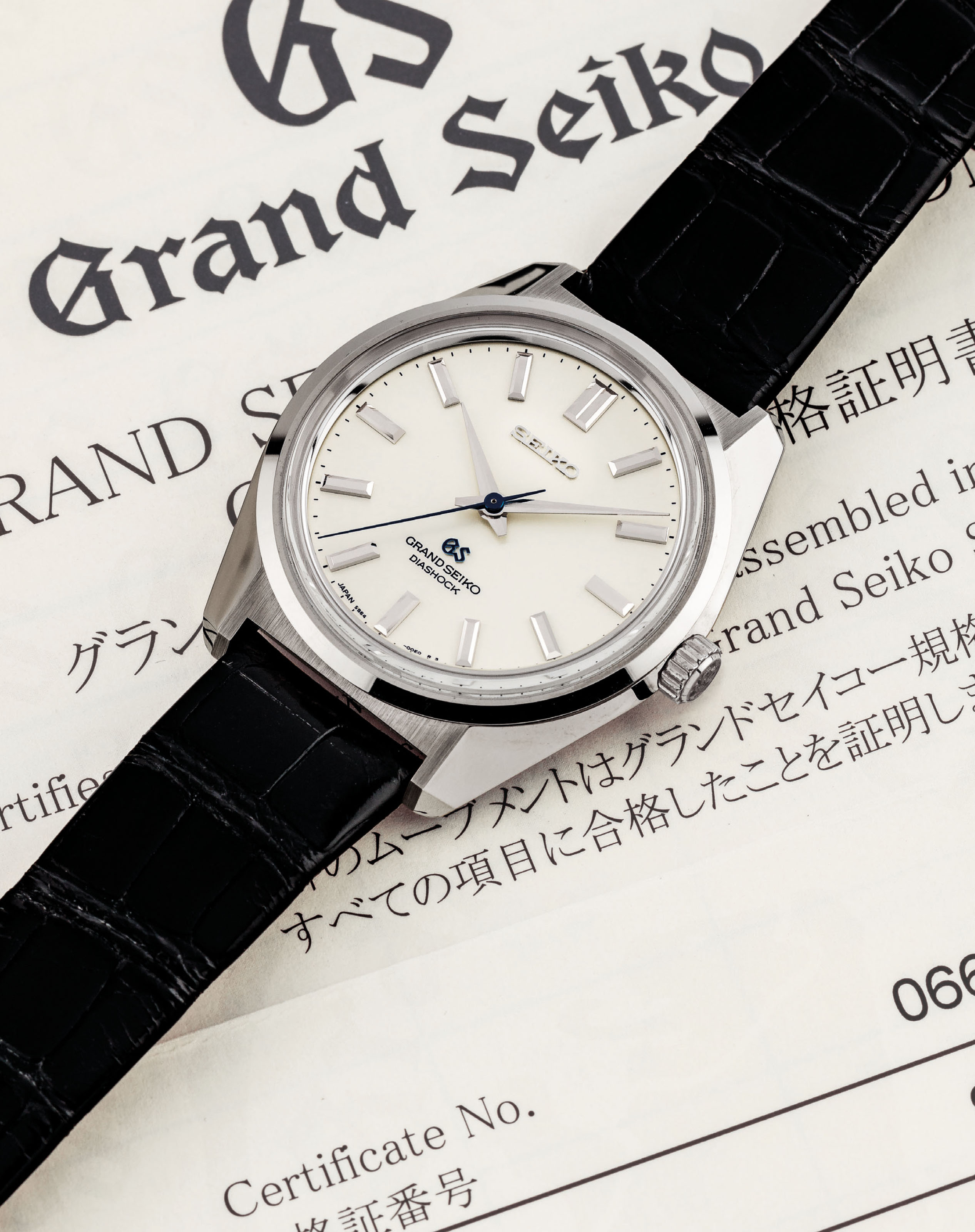 Grand Seiko A Fine And Rare 18k White Gold Limited Edition