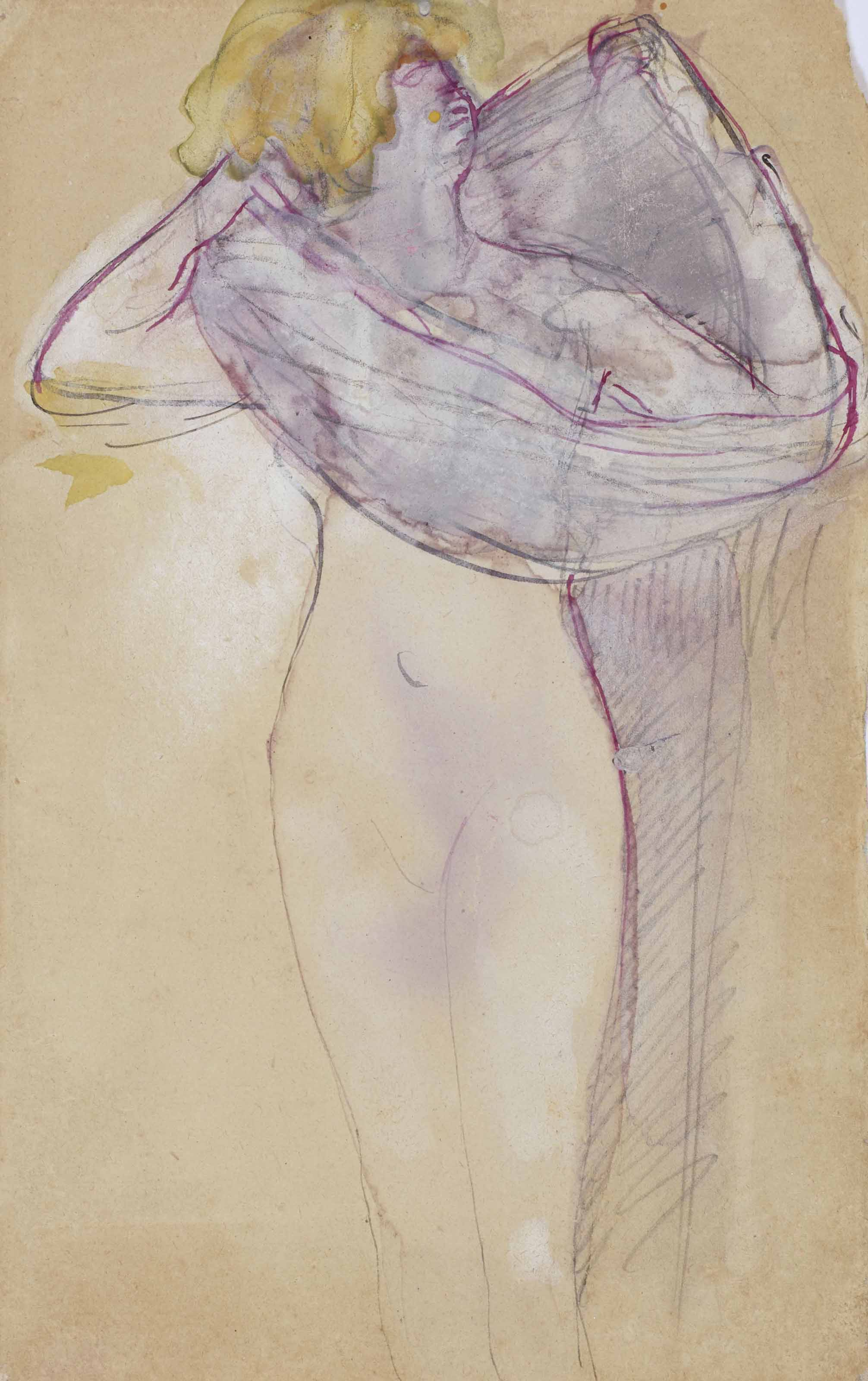 Auguste Rodin Watercolors