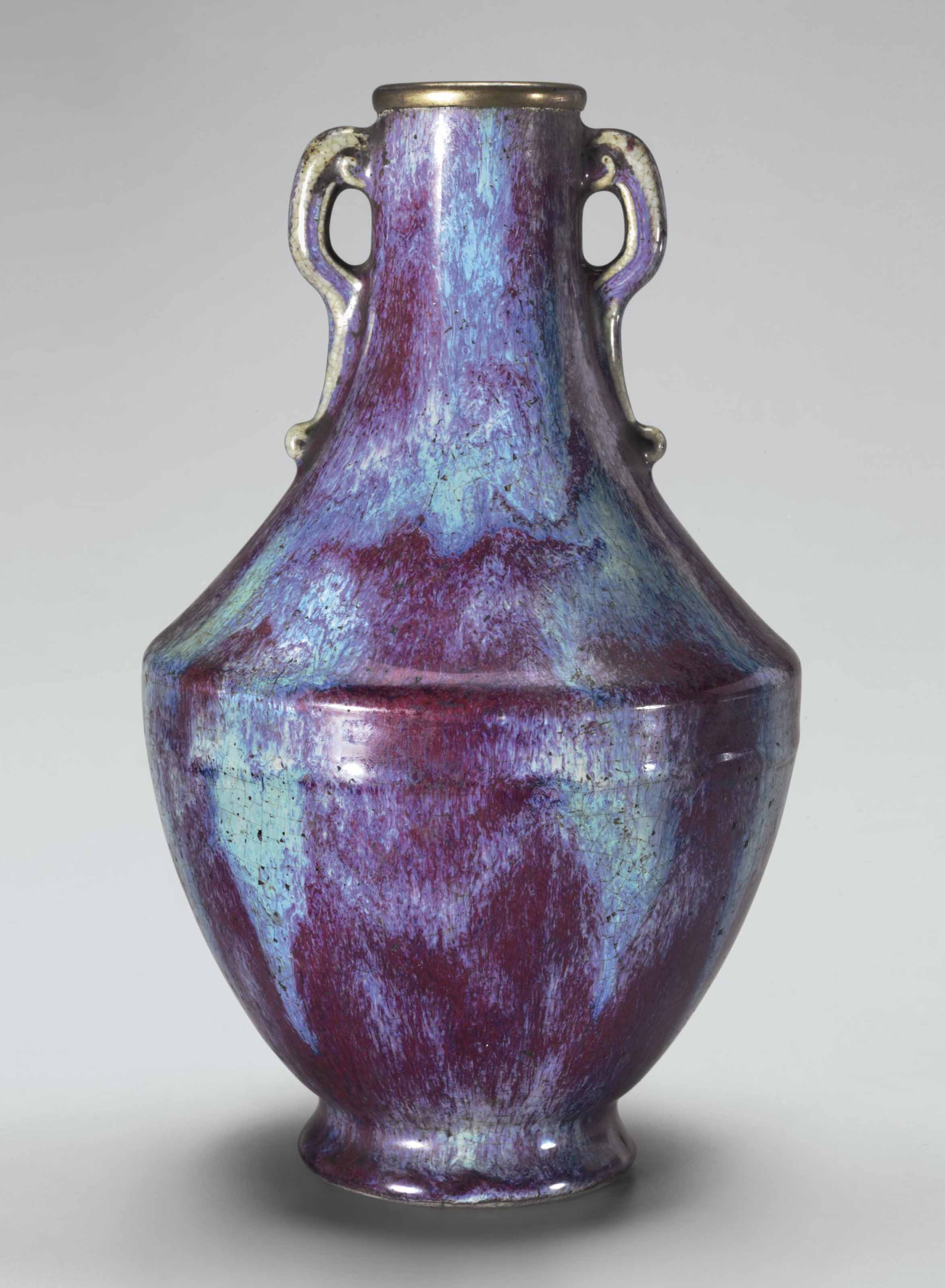 Incised vase Vase with incised sides.