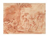 Allegory of the birth of Maffeo Barberini, later Pope Urban VIII
