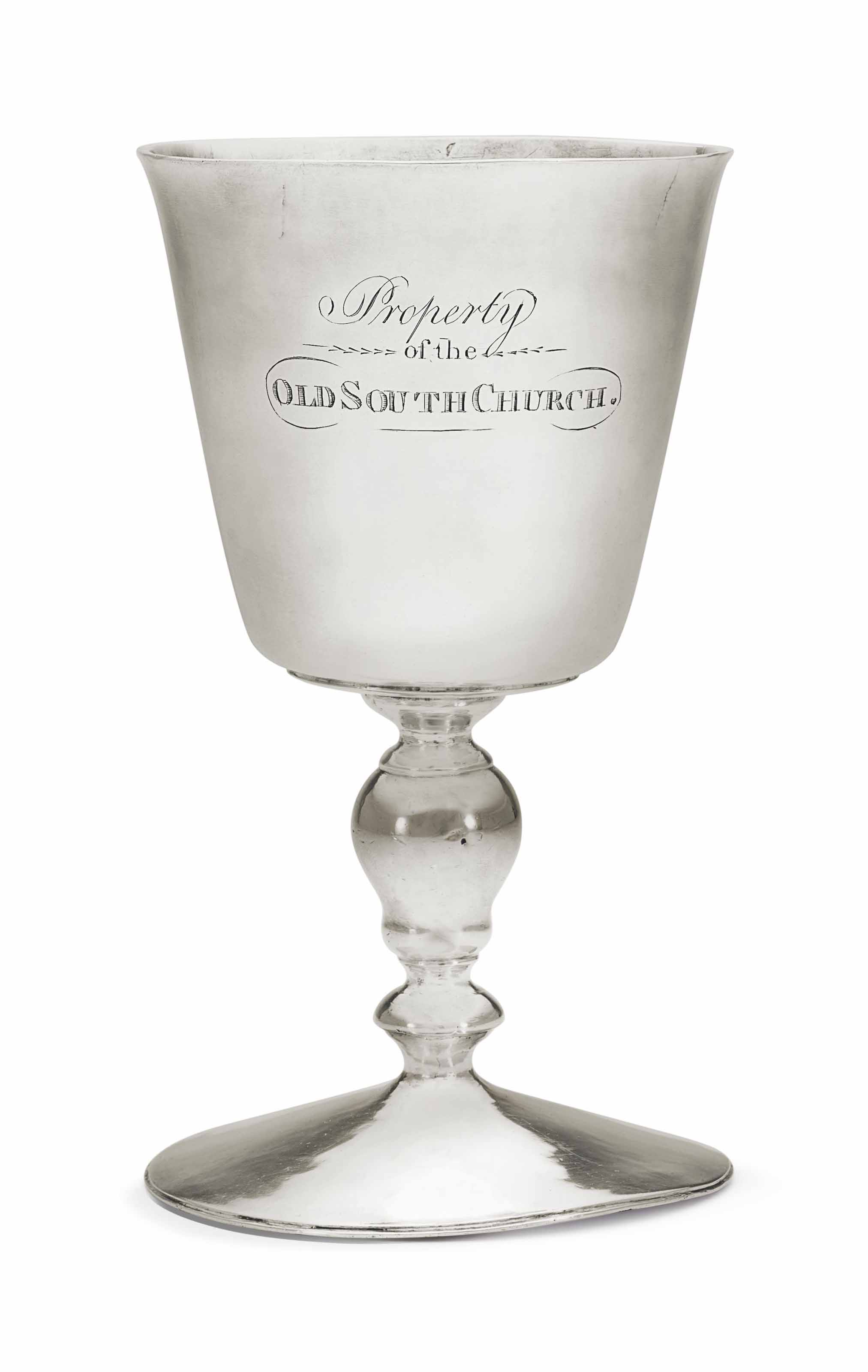 AN IMPORTANT SILVER WINE CUP