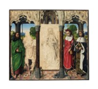The Virgin and Child with Saints Thomas, John the Baptist, Jerome and Louis