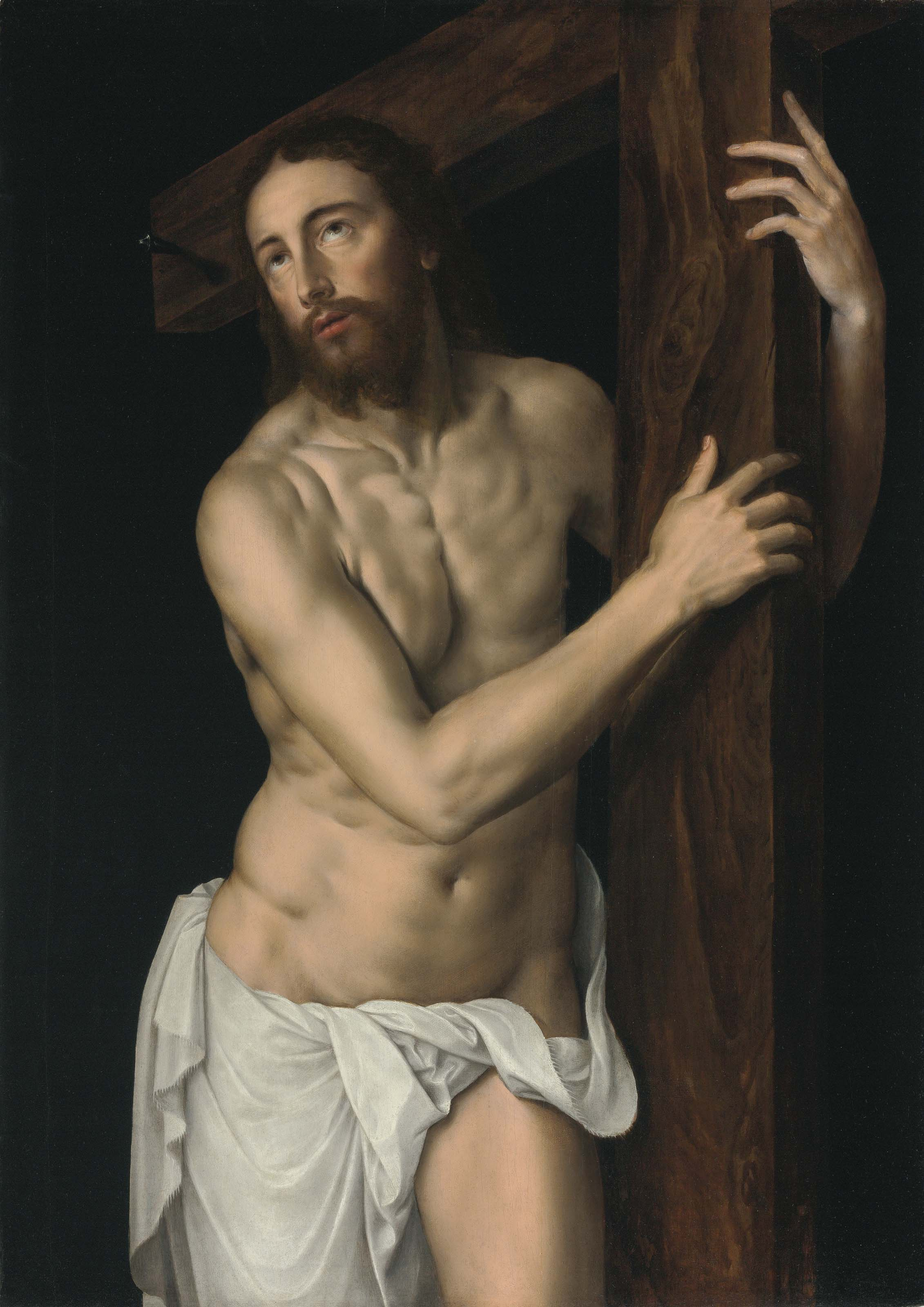 Christ the Redeemer holding the Cross