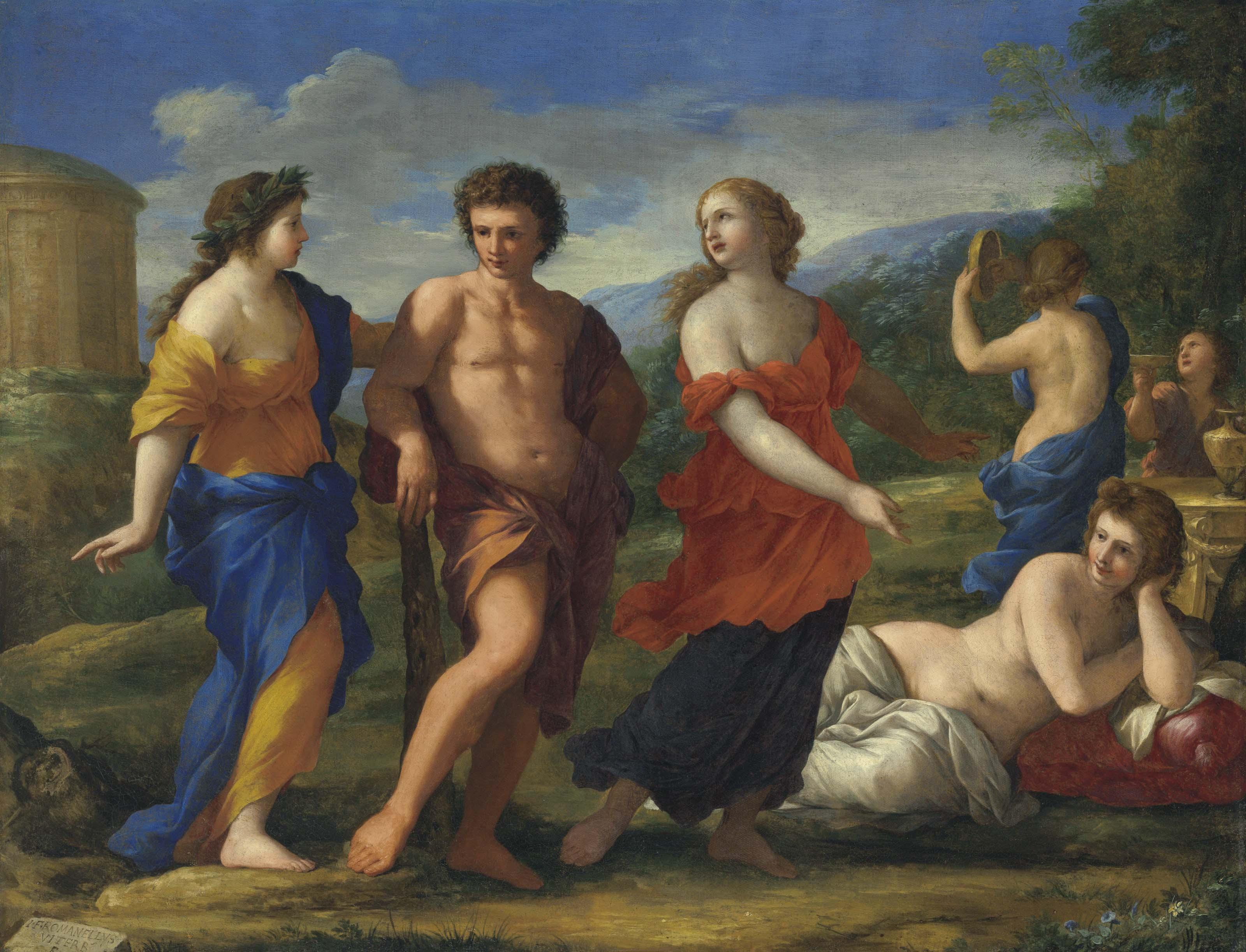 Giovanni Francesco Romanelli (Viterbo c. 1610-1662)