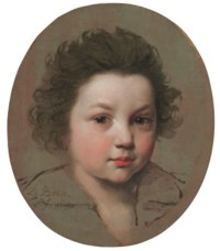 Portrait of a boy, bust-length