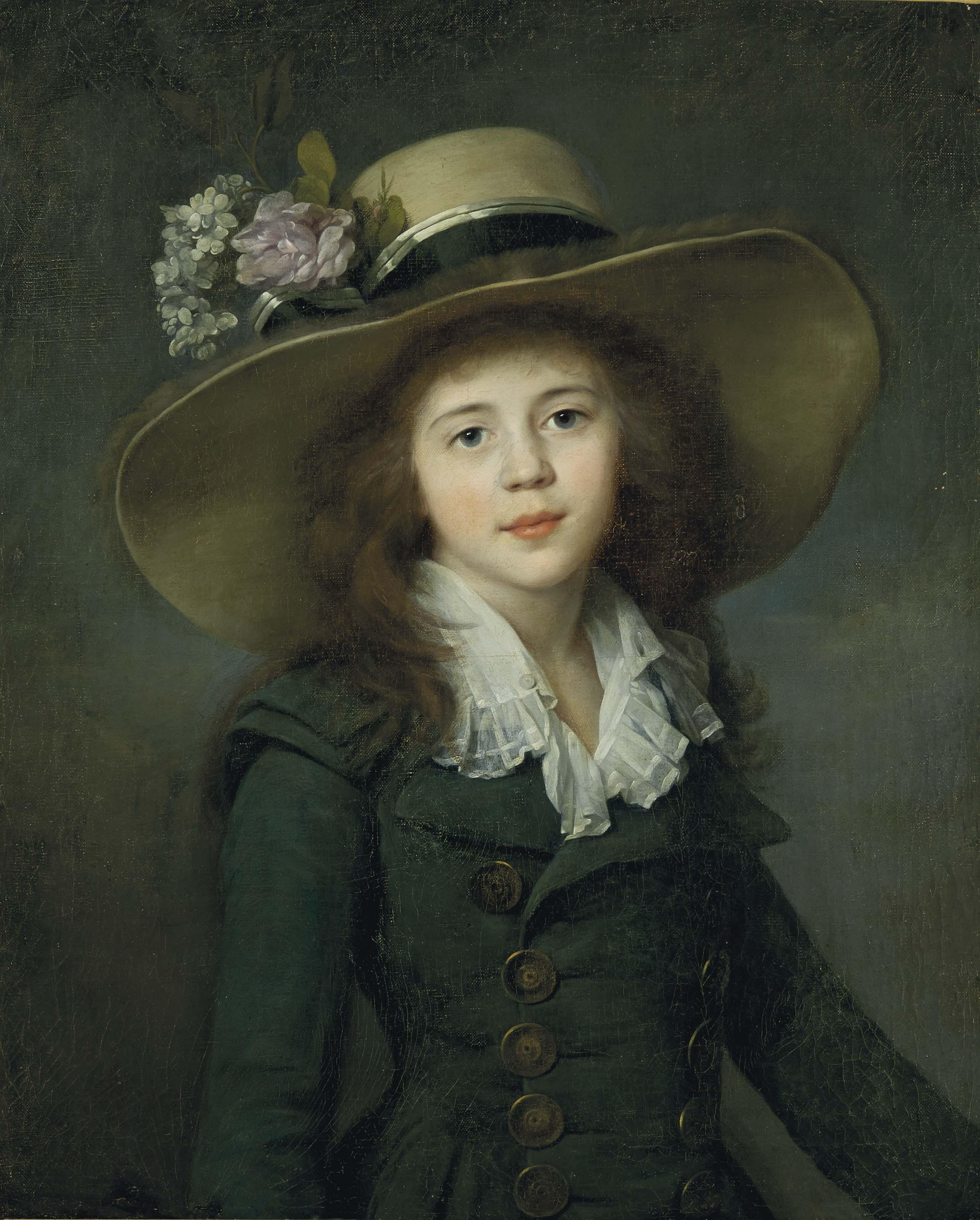 Portrait of Elizaveta Alexandrovna, Baroness Stroganova (1776-1818), later Countess Demidova, half-length