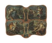 The Rape of Europa; Diana and Acteon; Hercules, Deianira, and Nessus; and Galatea and Polyphemus