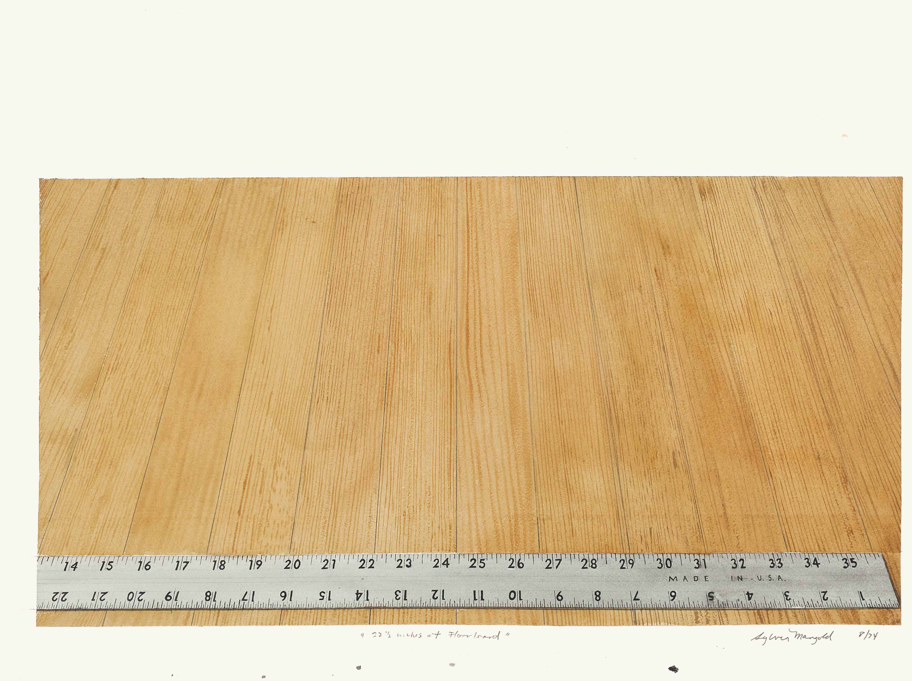 22 1/2 inches of Floorboard