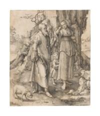 Abraham dismissing Hagar