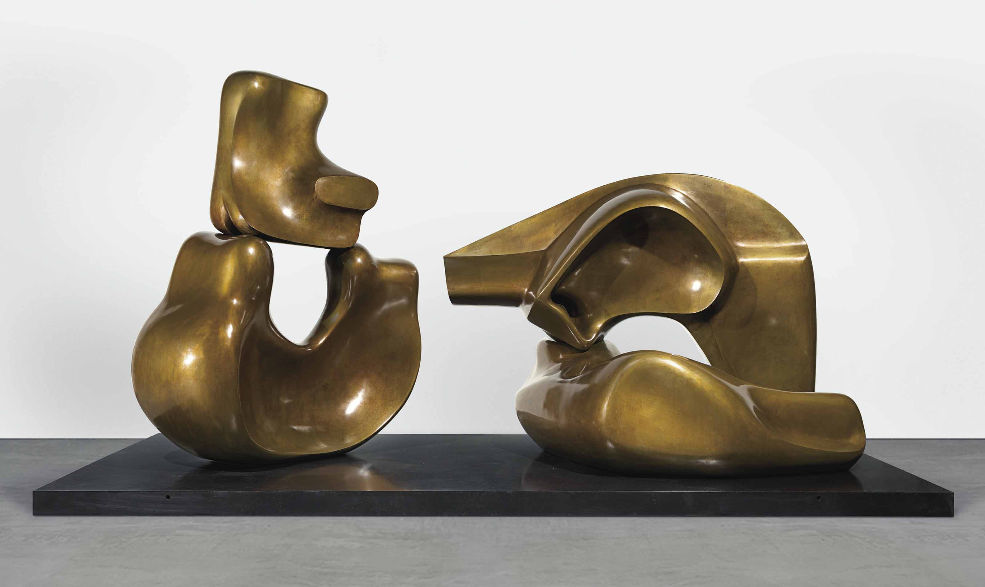 Large Four Piece Reclining Figure