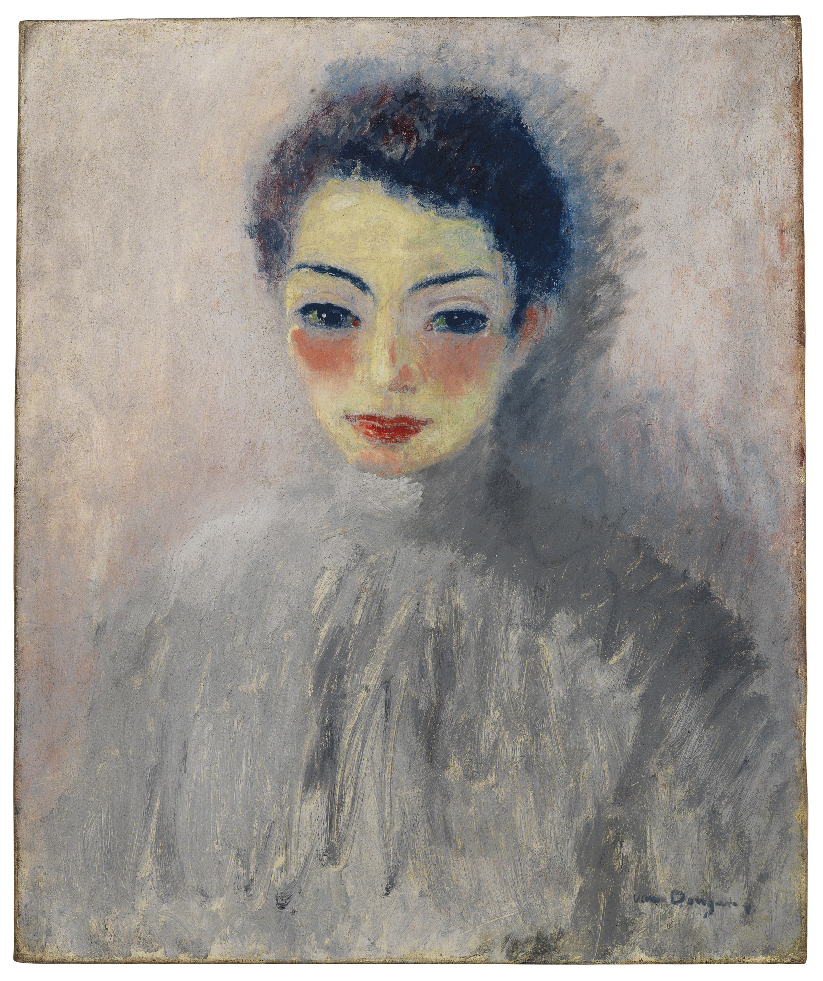Kees Van Dongen (1877-1968) , Portrait de femme | Christies