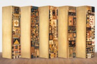 Untitled (Double-sided Folding Screen)