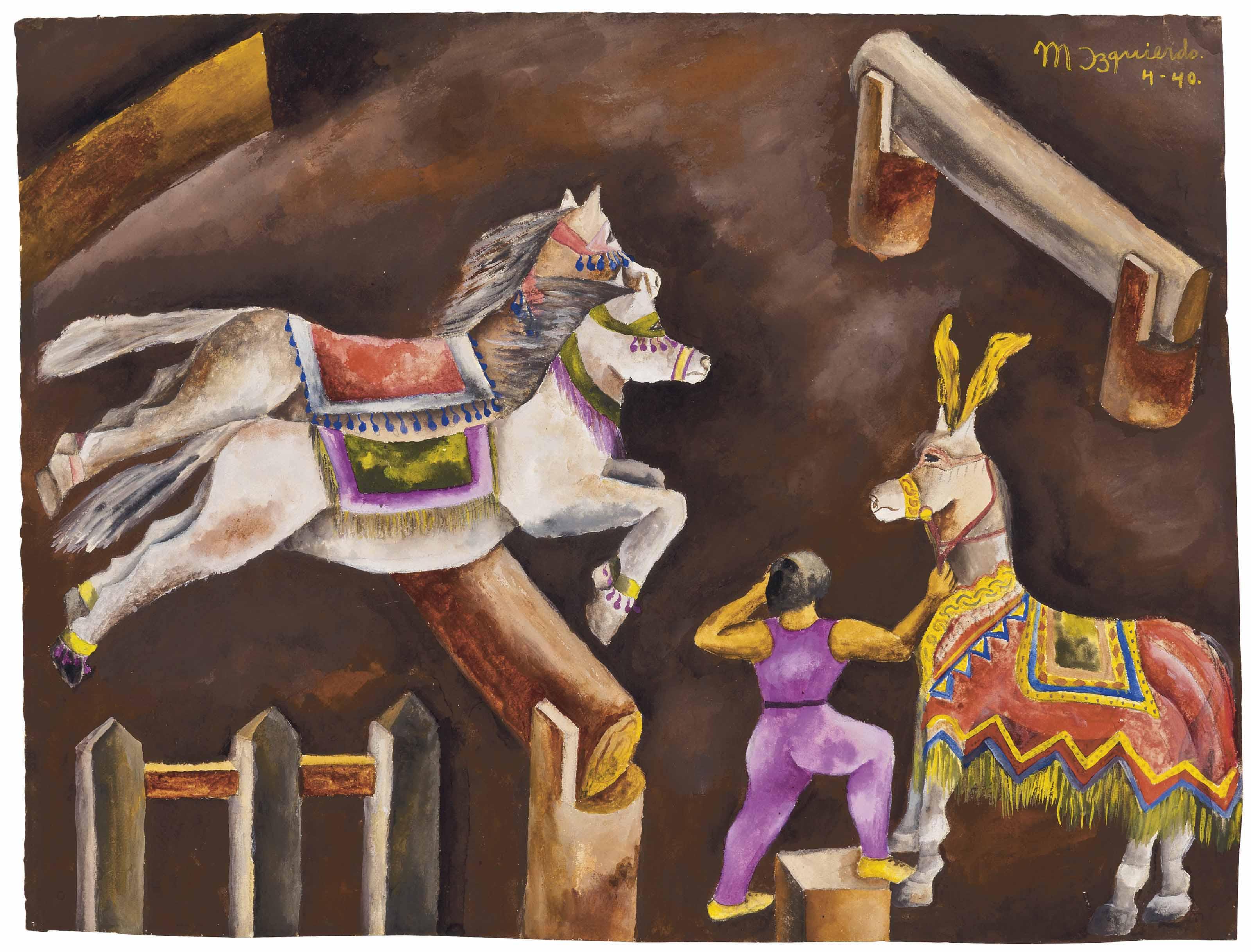 Caballitos del circo