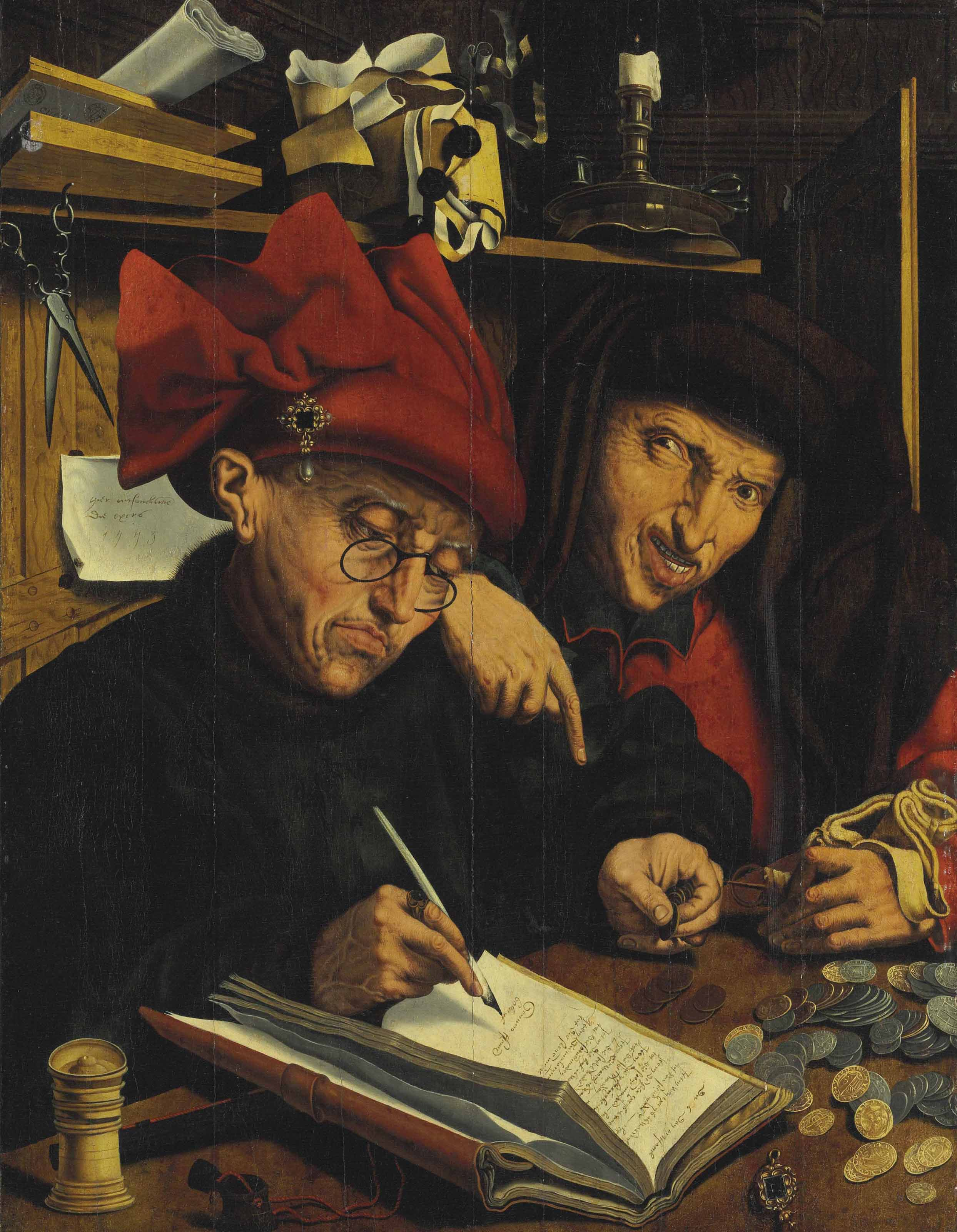 16th-Century Follower of Quentin Metsys | The Tax Collectors ...