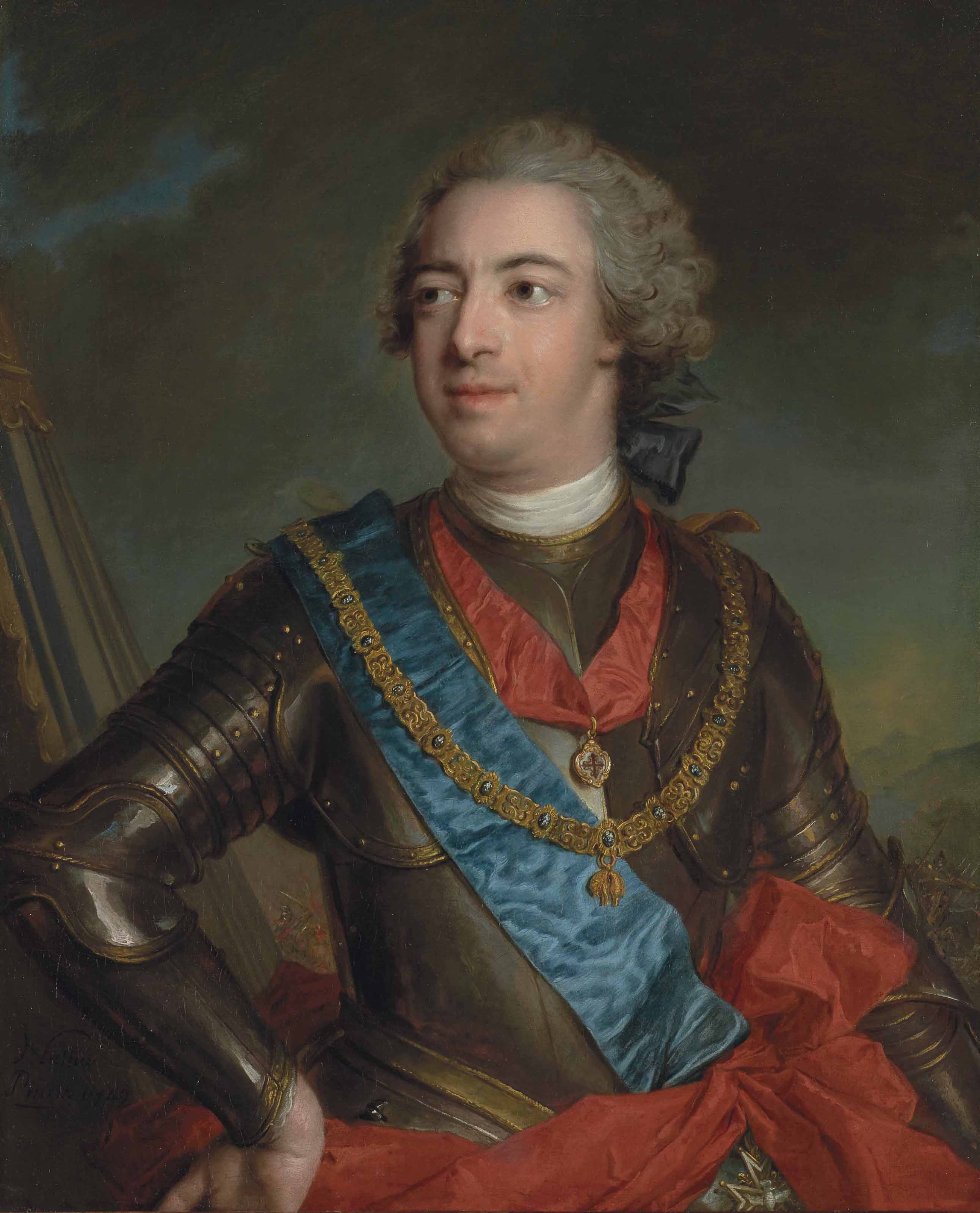 Portrait of Fernando de Silva y Alvarez of Toledo, 12th Duke of Alba and Duke of Huescar (1714-1776), half-length