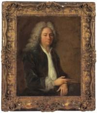 Portrait of a man, half-length