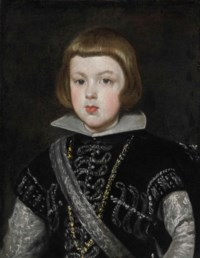 Portrait of the Infante Baltasar Carlos (1629-1646), son of King Philip IV of Spain and his wife Isabella of Bourbon, bust-length