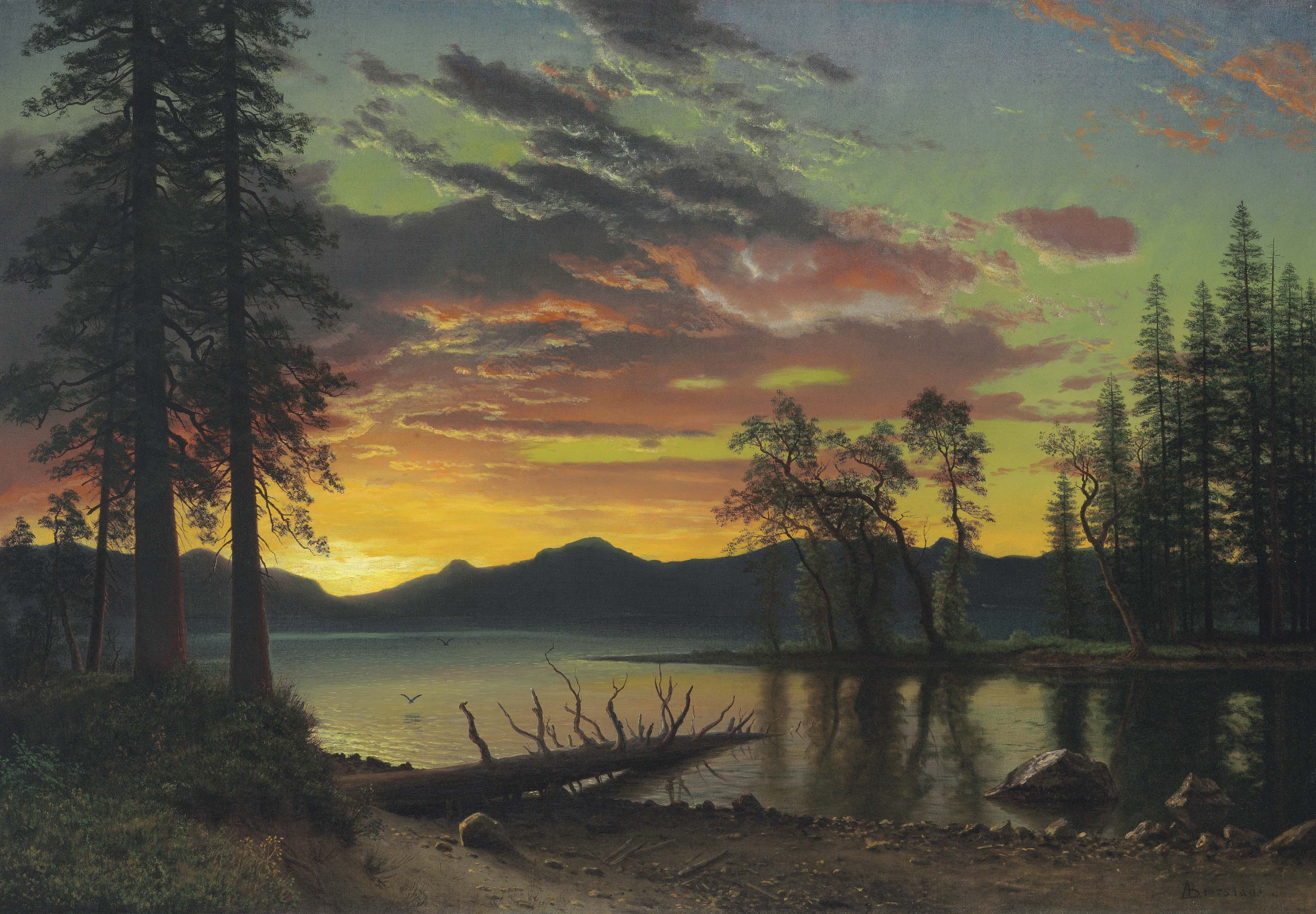 Twilight, Lake Tahoe